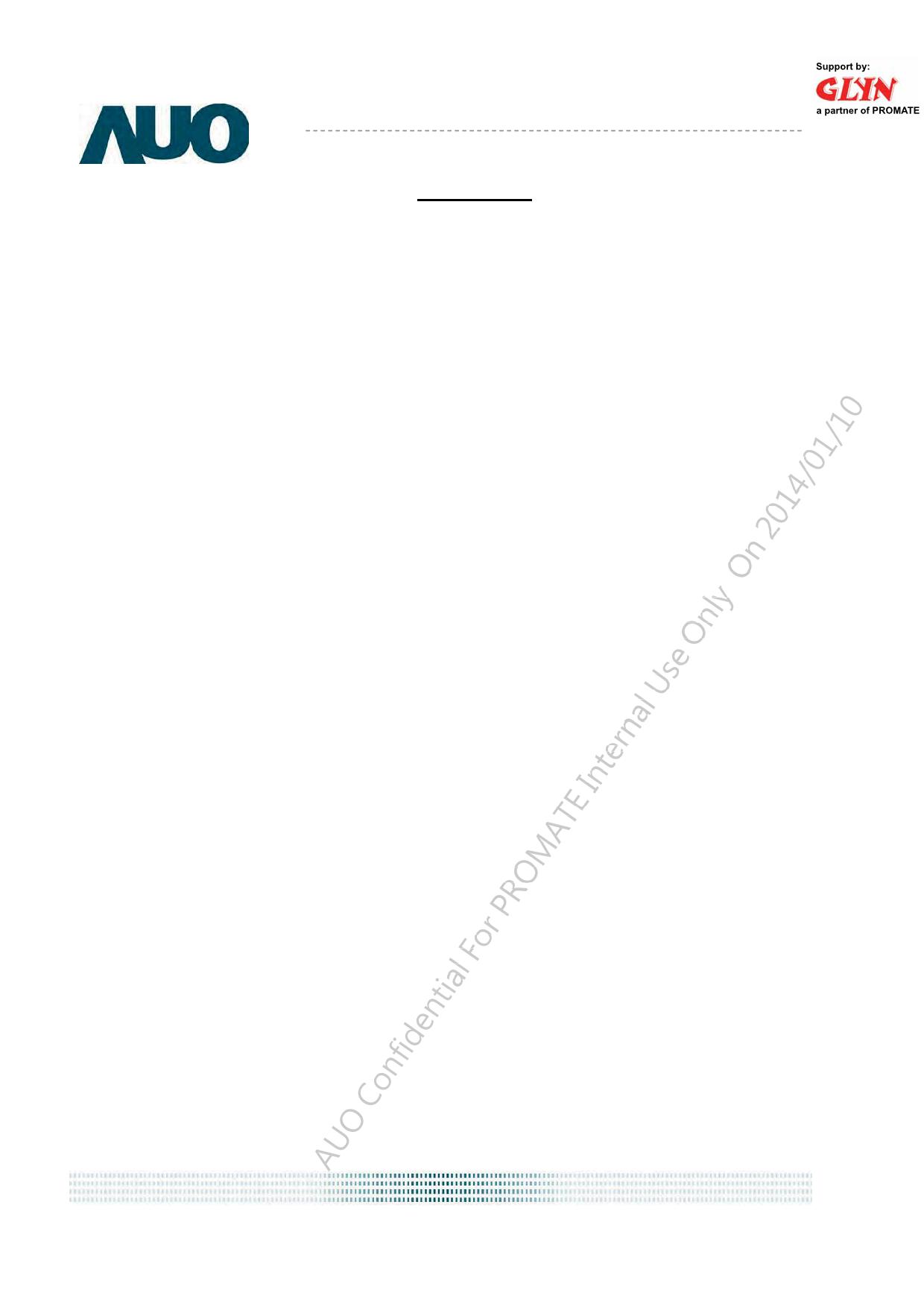 G070VVN01.100 Даташит, Описание, Даташиты