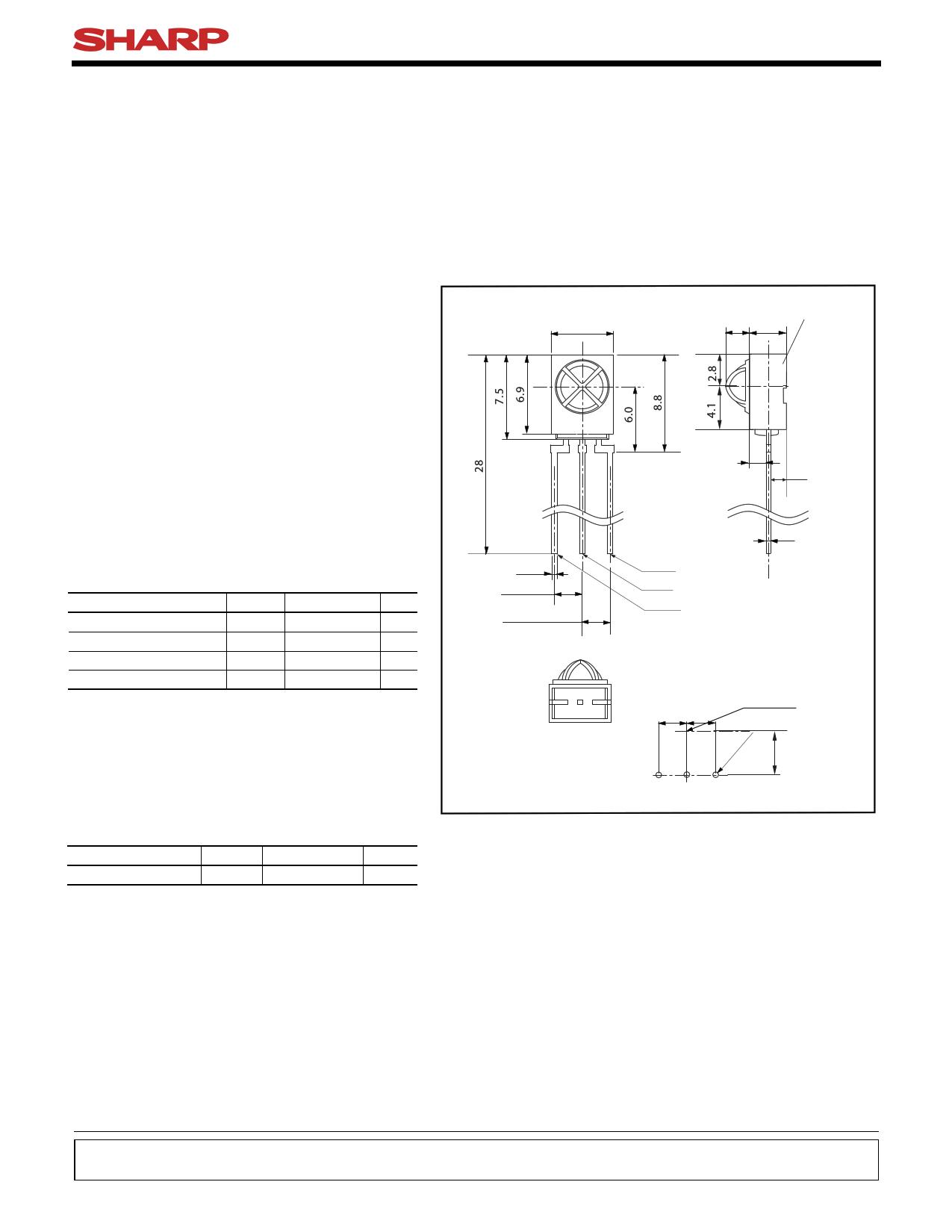 GP1UX31QS دیتاشیت PDF