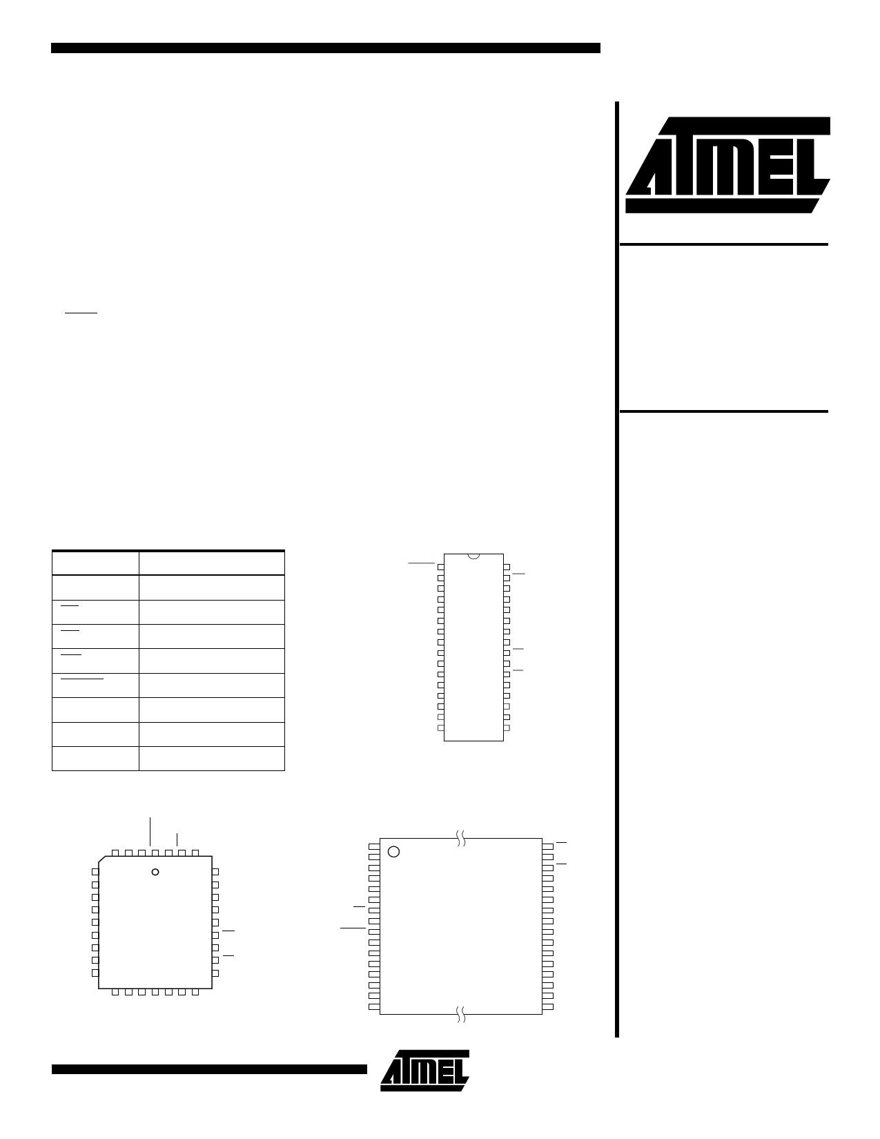 AT49F001T دیتاشیت PDF