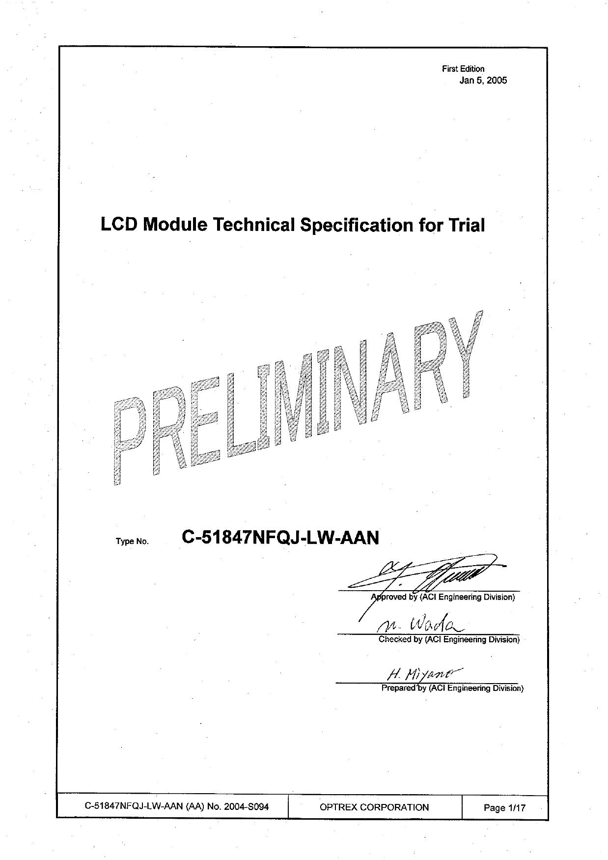 C-51847NFQJ-LW-AAN دیتاشیت PDF