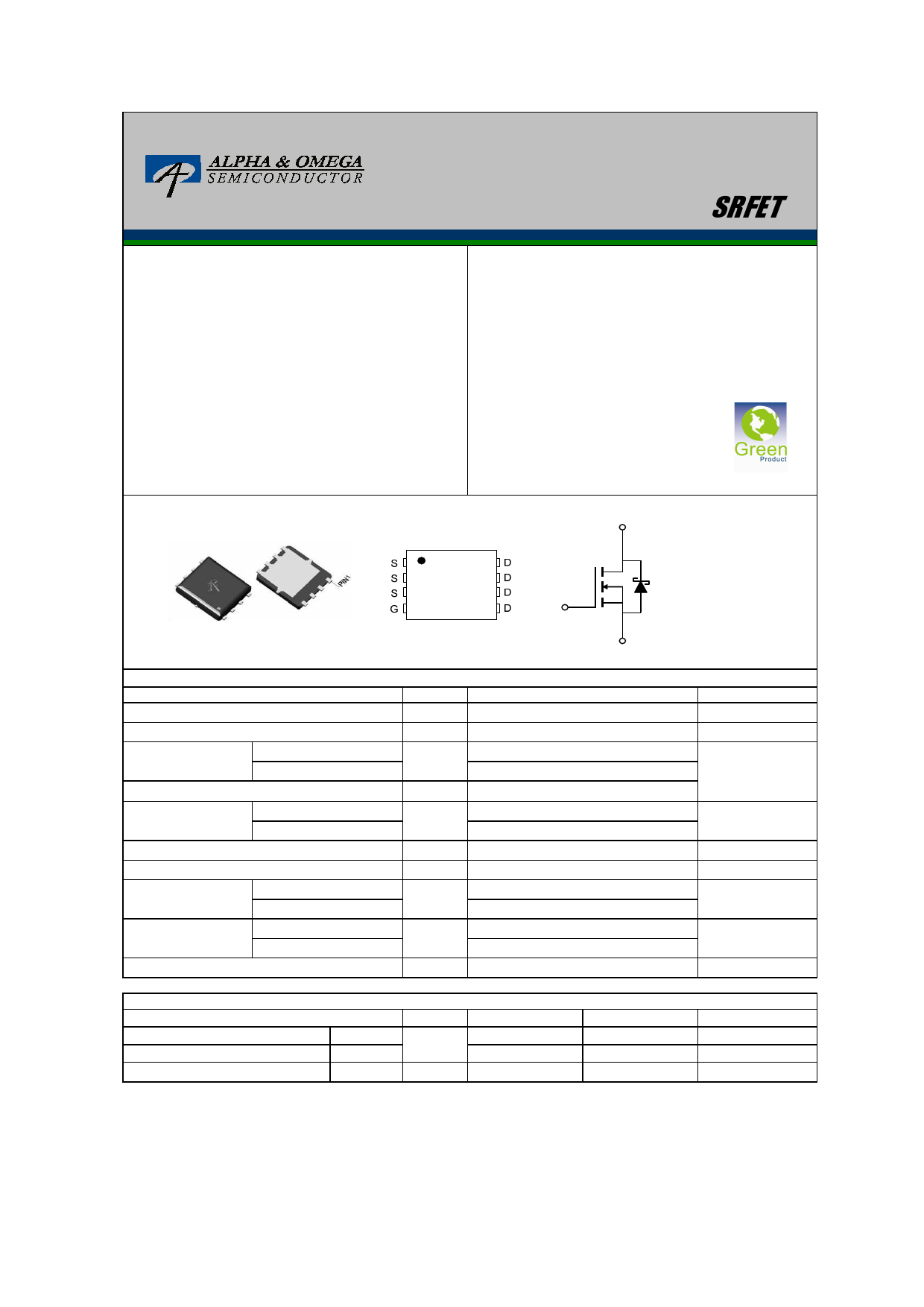AON6702L Datasheet, AON6702L PDF,ピン配置, 機能