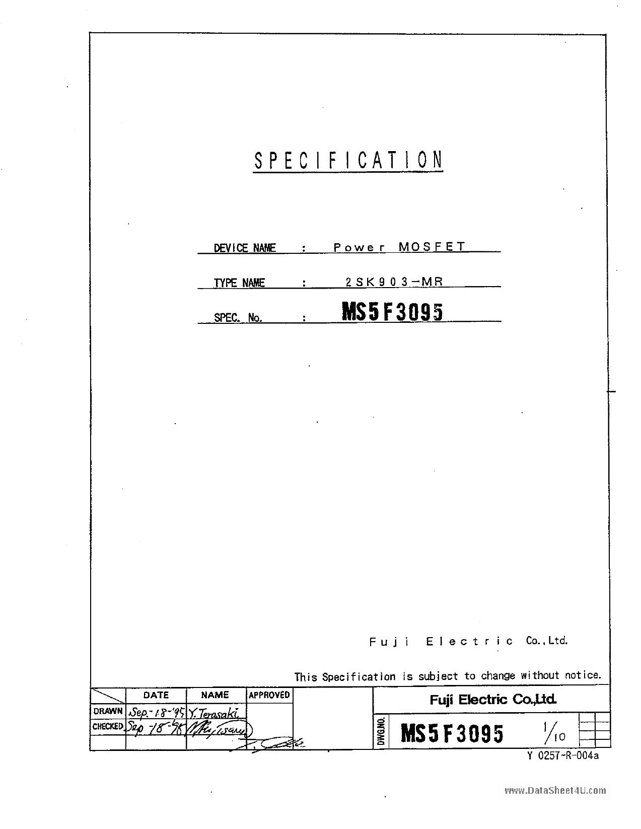 K903 pdf
