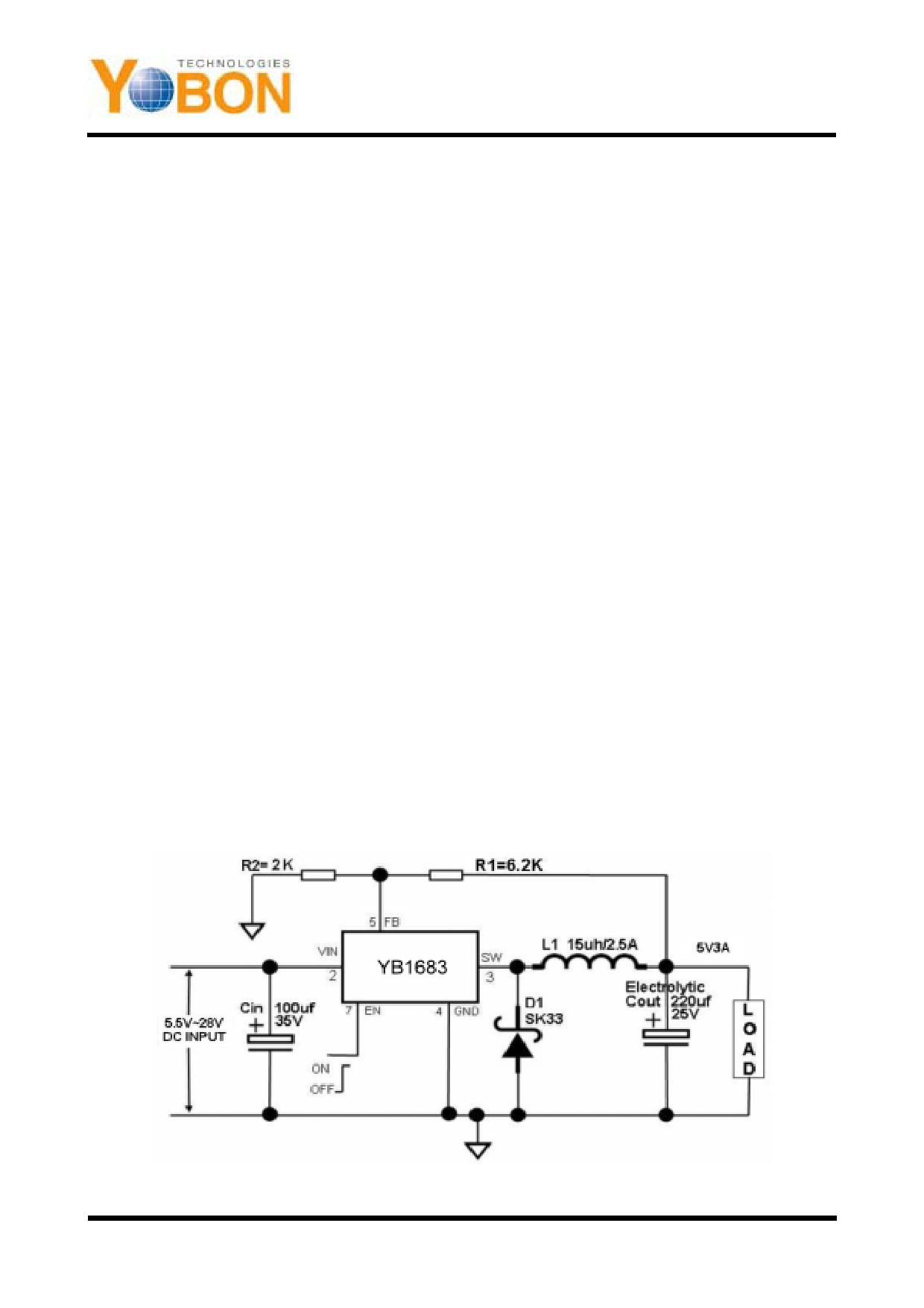 YB1683 دیتاشیت PDF