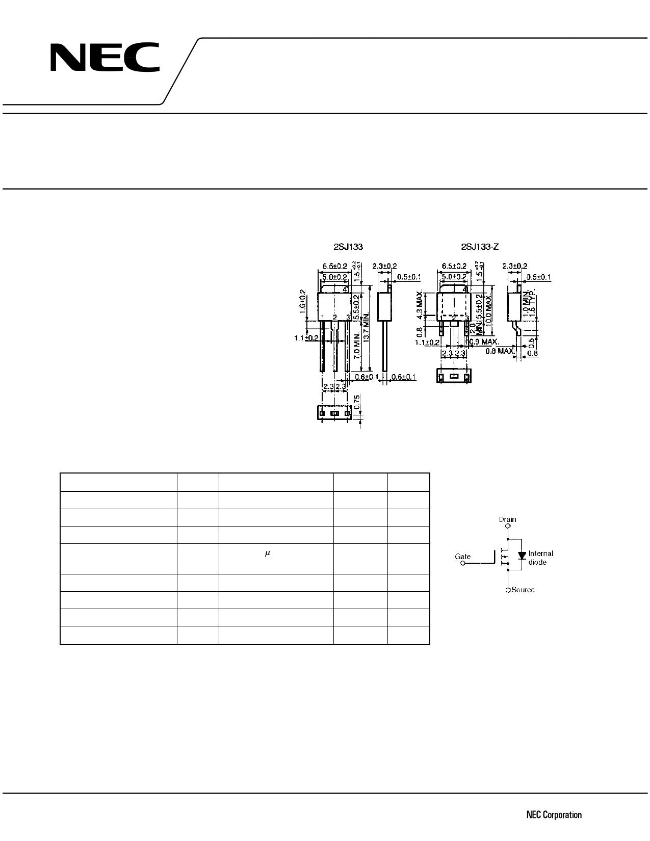 J133 دیتاشیت PDF
