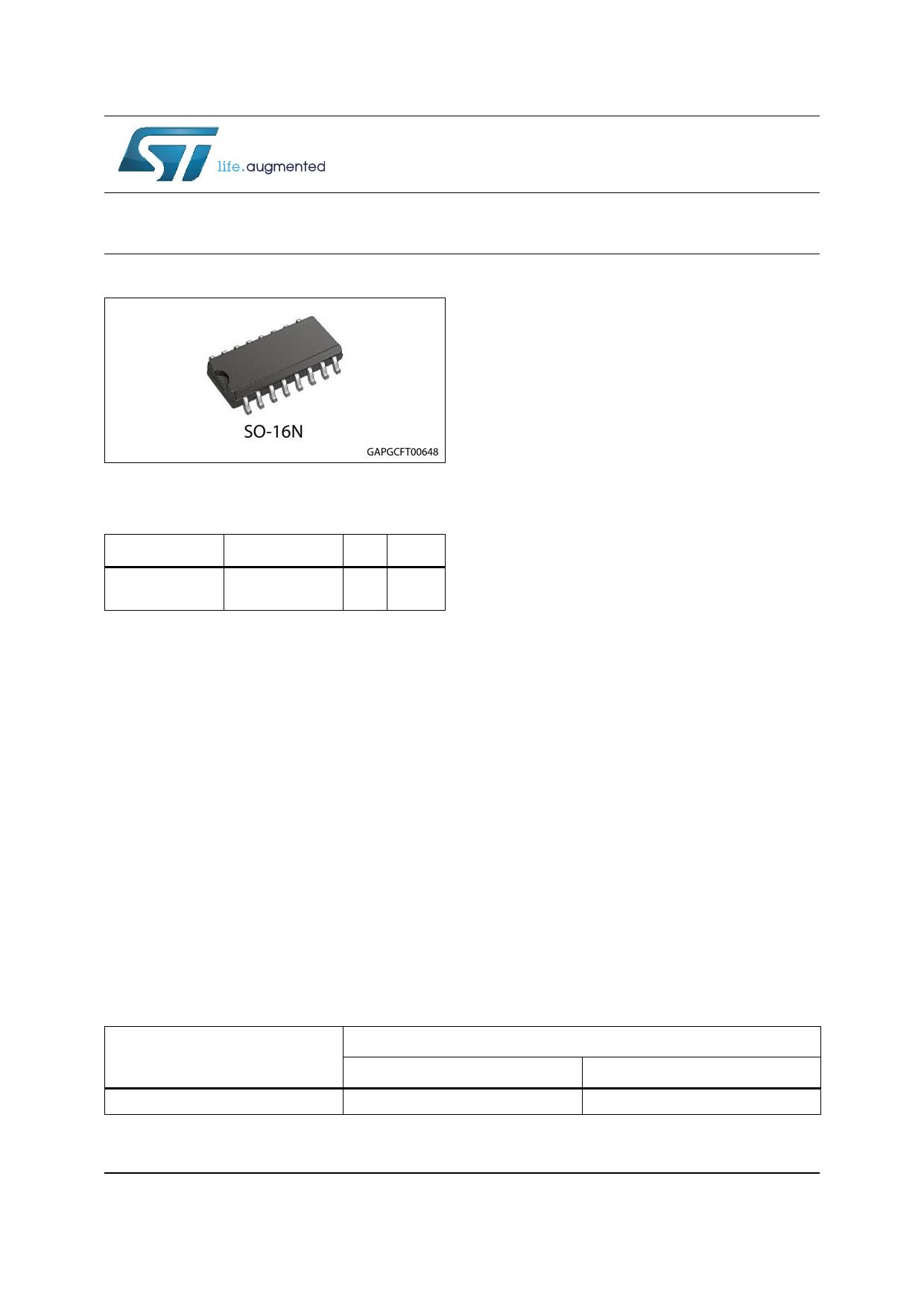 VNH5200AS-E datasheet, circuit