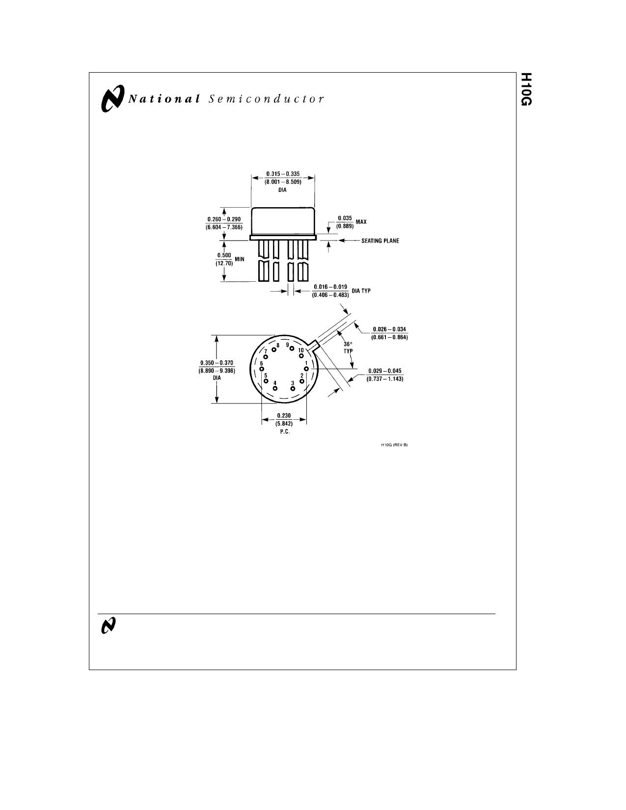 H10G دیتاشیت PDF