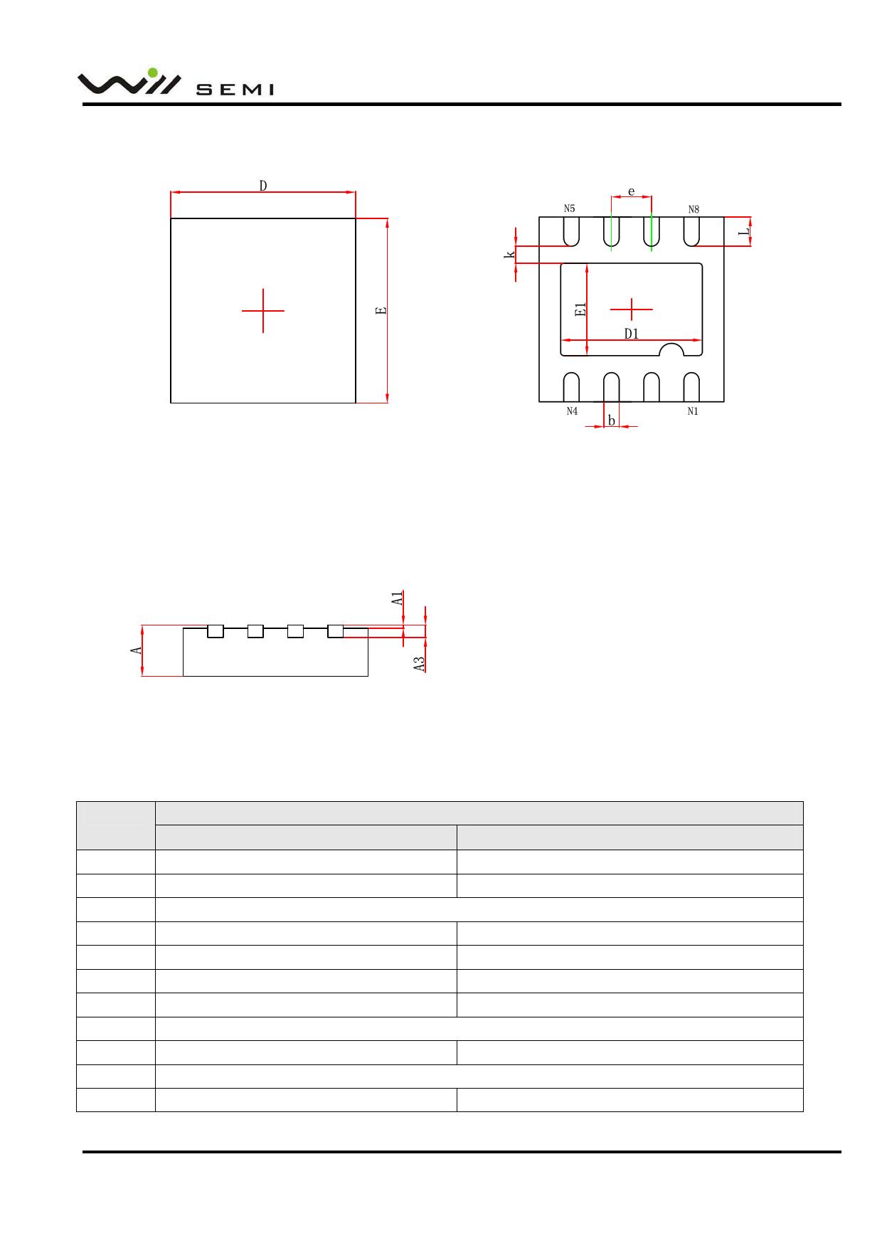 WPM2009D Datasheet, Funktion