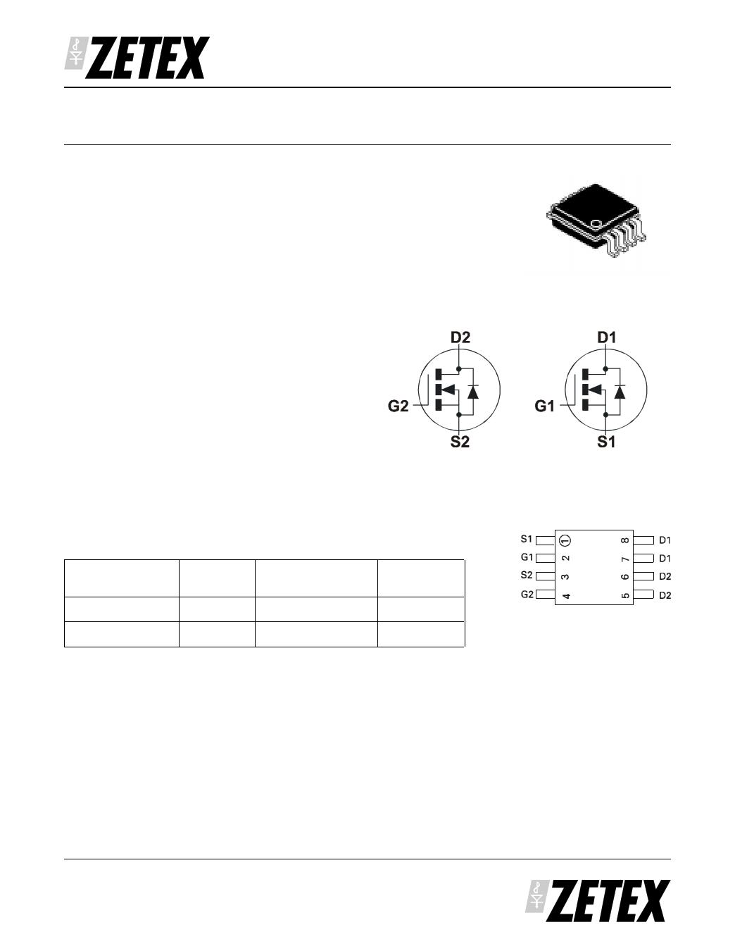 ZXMD63N02X دیتاشیت PDF