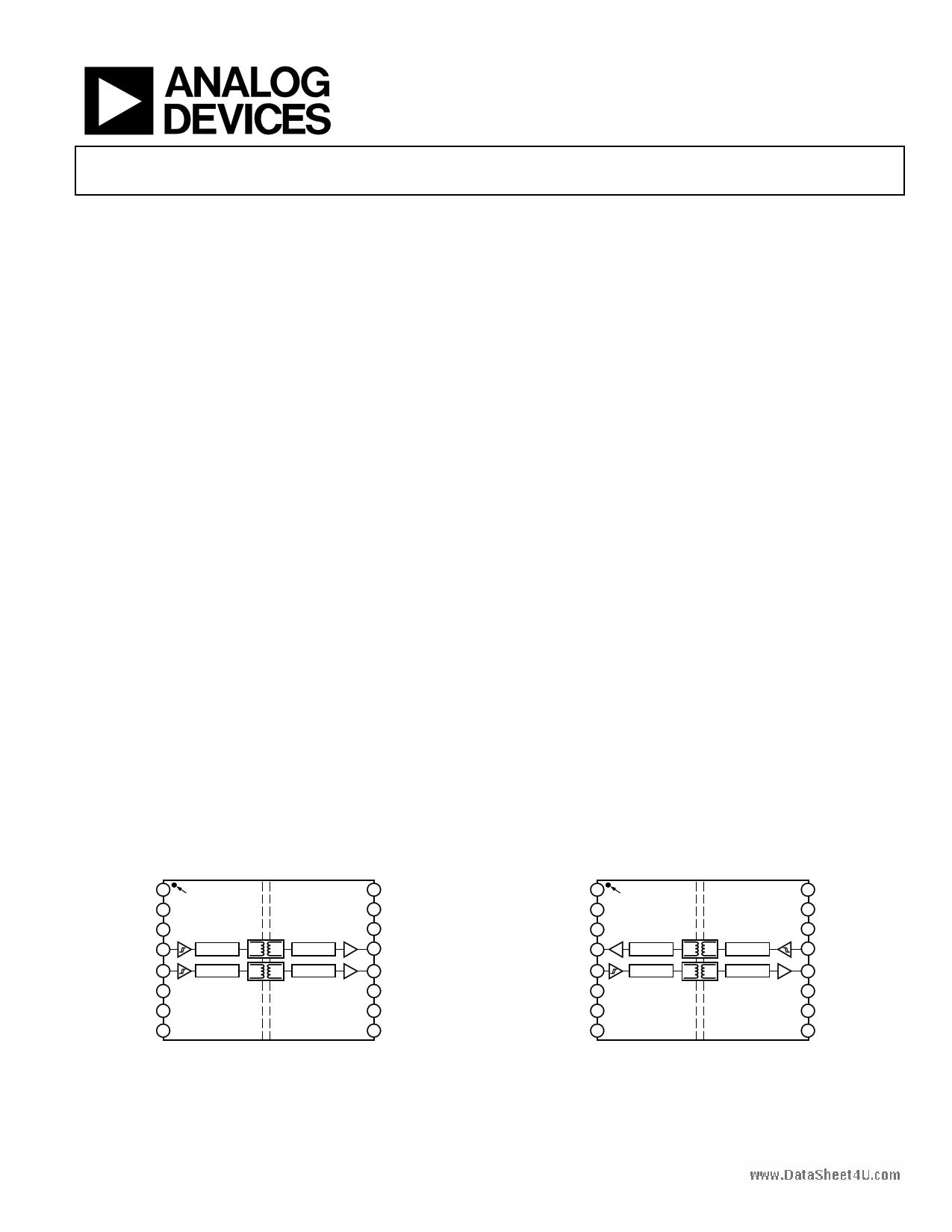 ADUM2200 دیتاشیت PDF