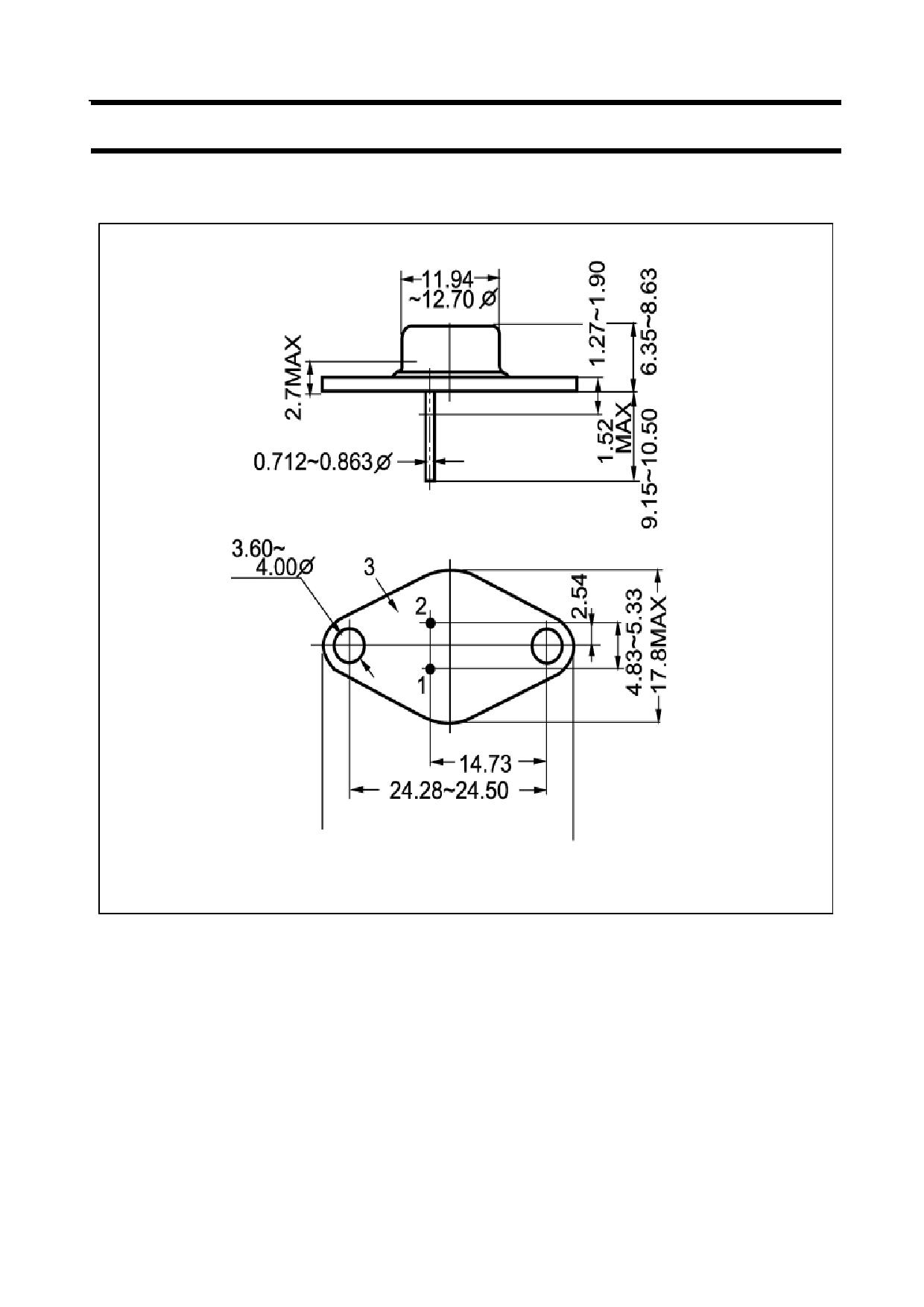 2N6299 pdf, ピン配列
