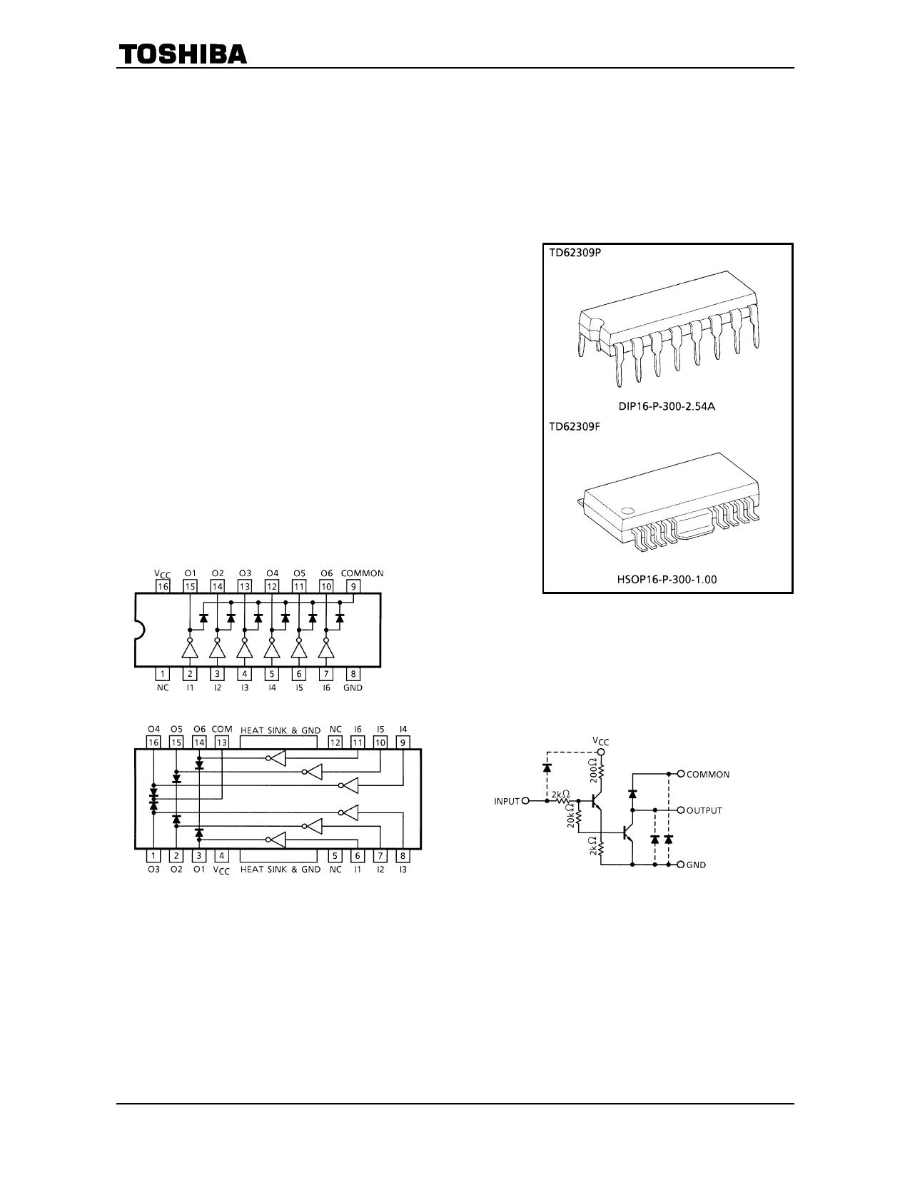 TD62309F دیتاشیت PDF