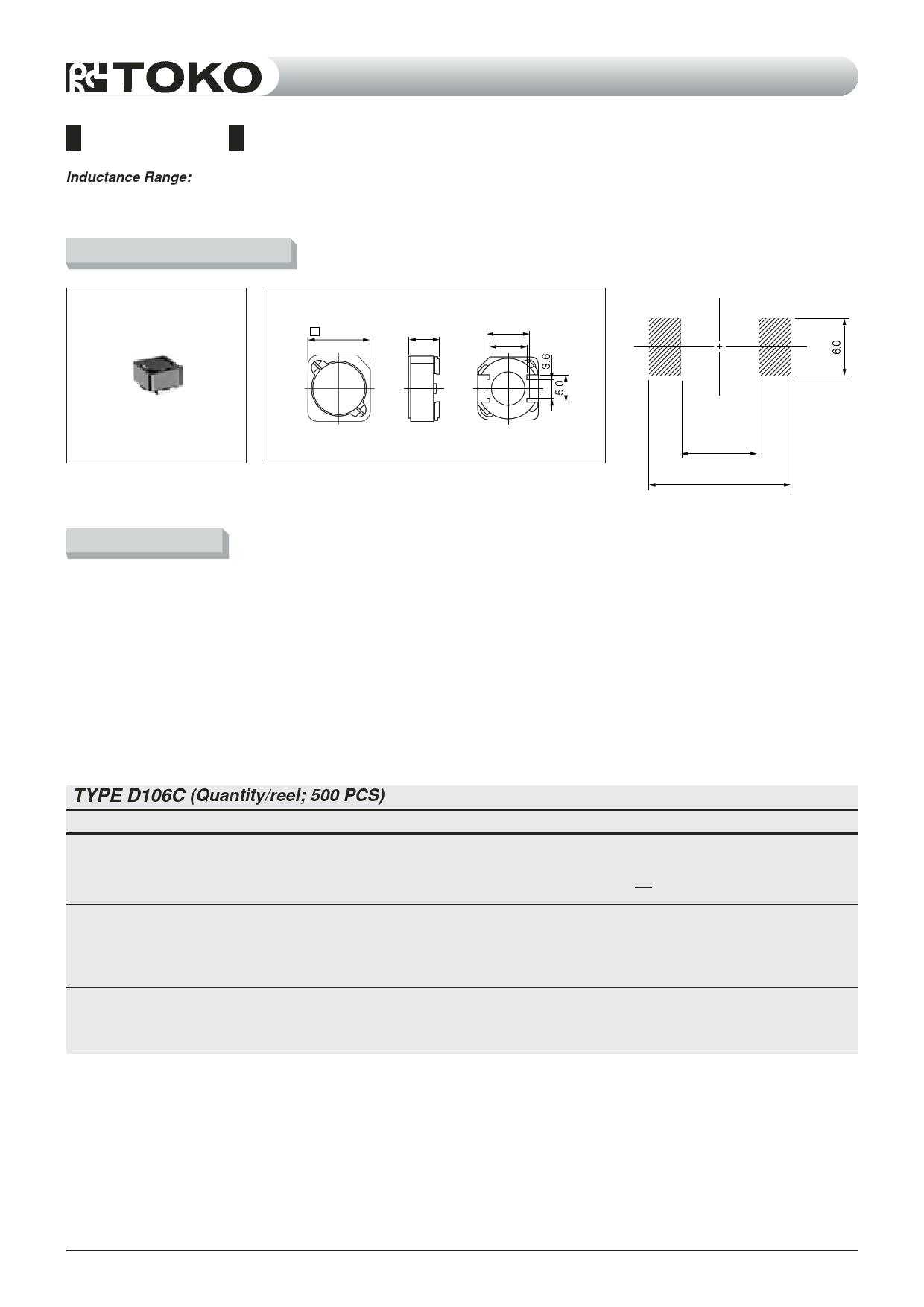 D106C datasheet