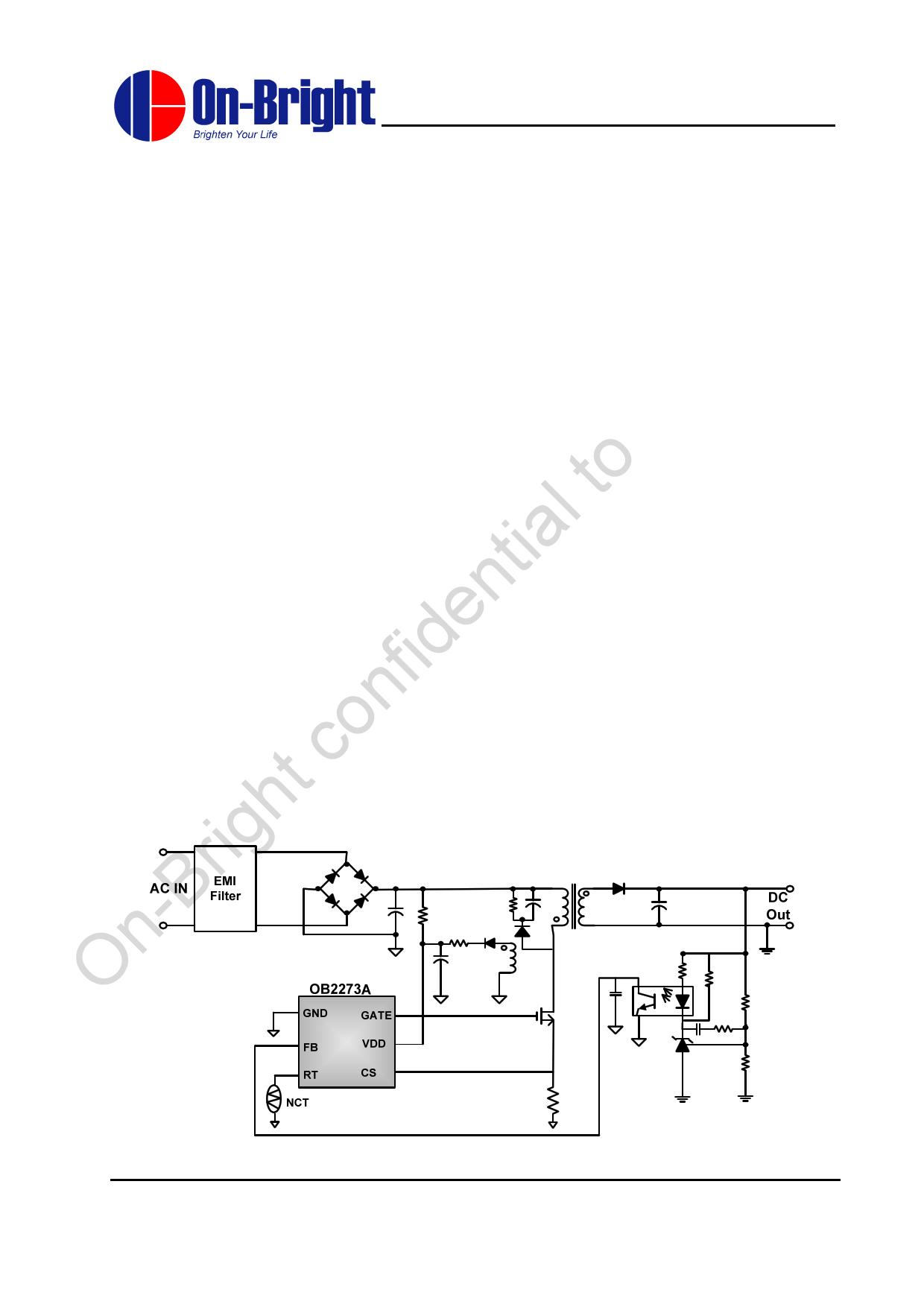 OB2273A datasheet