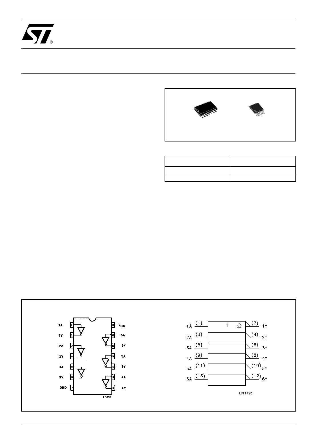 74LVX05TTR دیتاشیت PDF