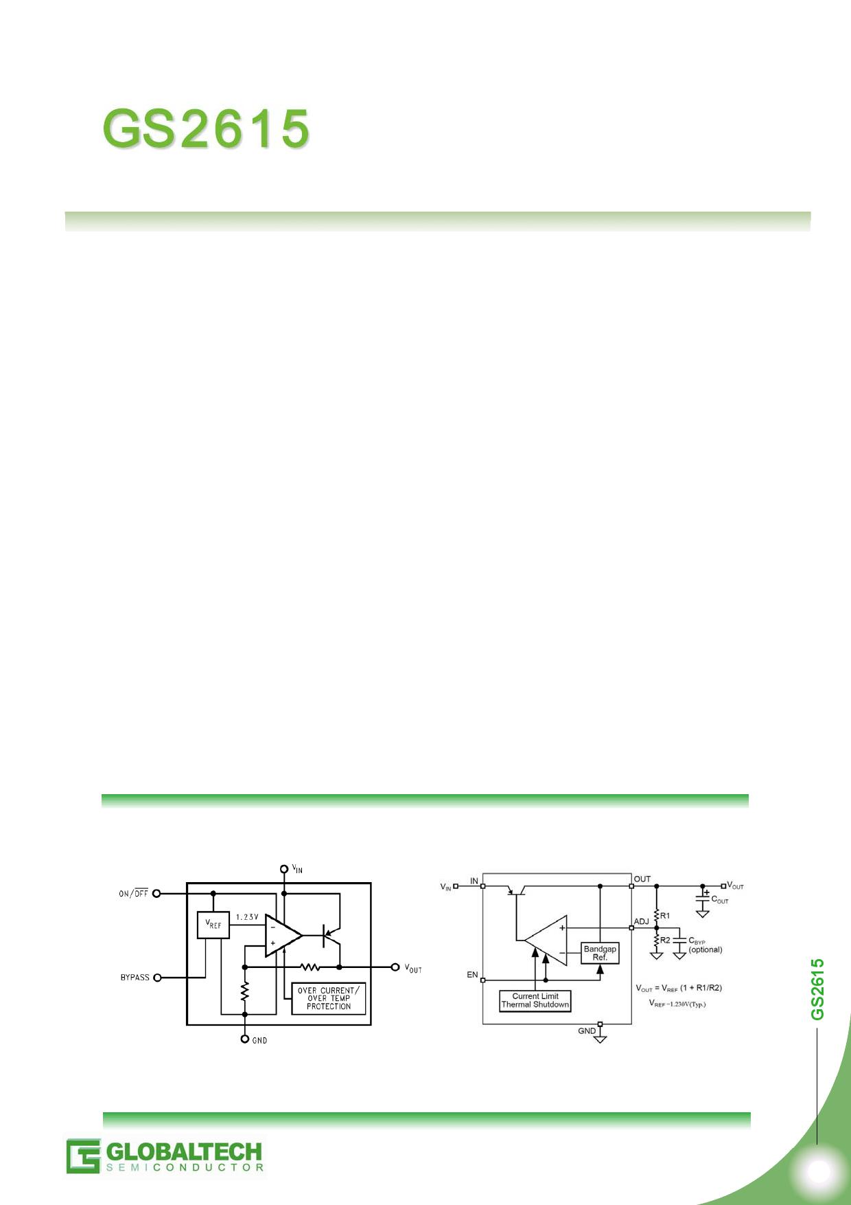 GS2615 datasheet