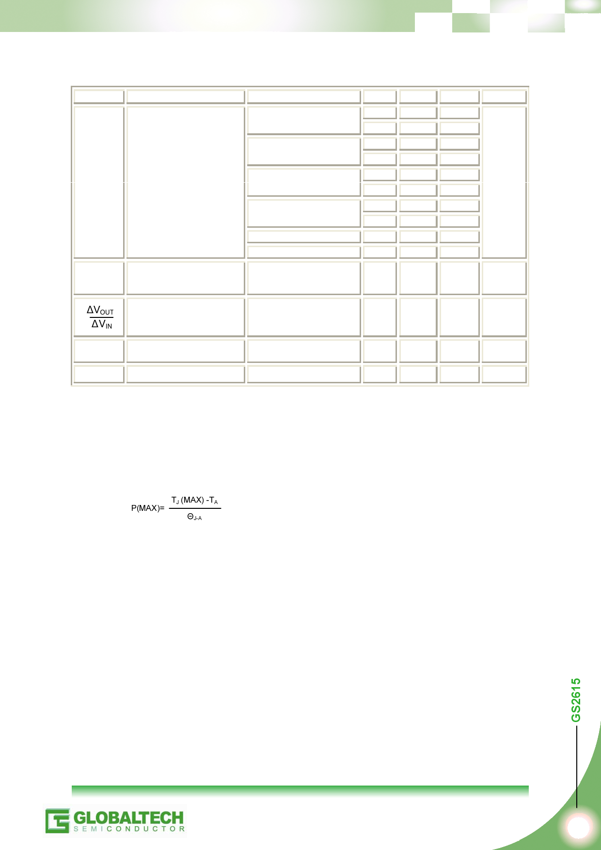 GS2615 pdf