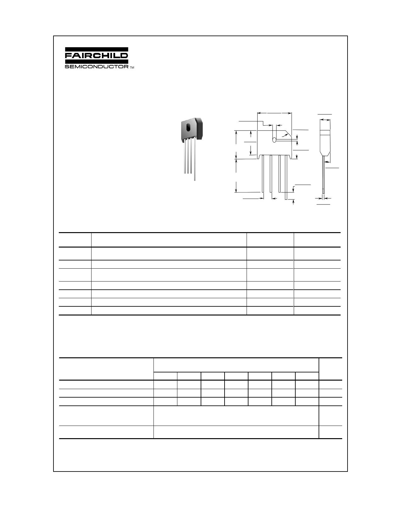 KBU4K datasheet