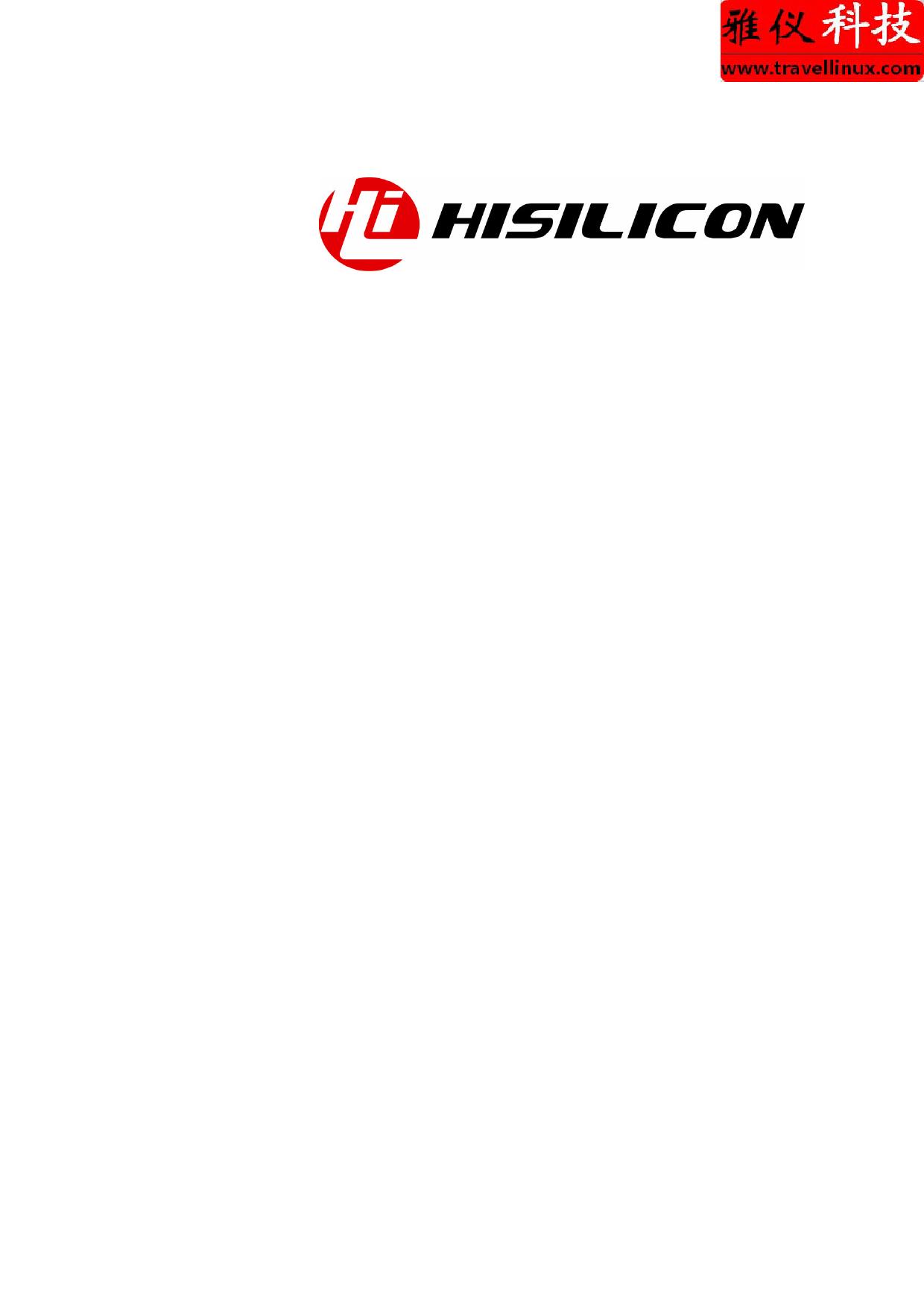 Hi3516 datasheet, circuit