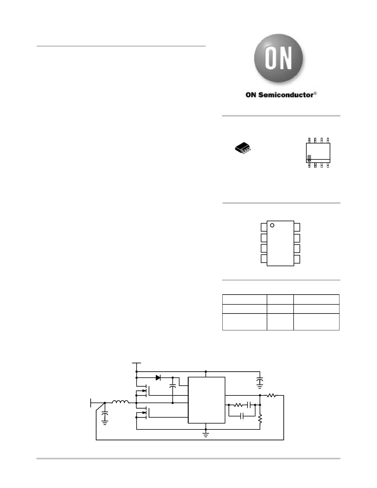 NCP1580 دیتاشیت PDF