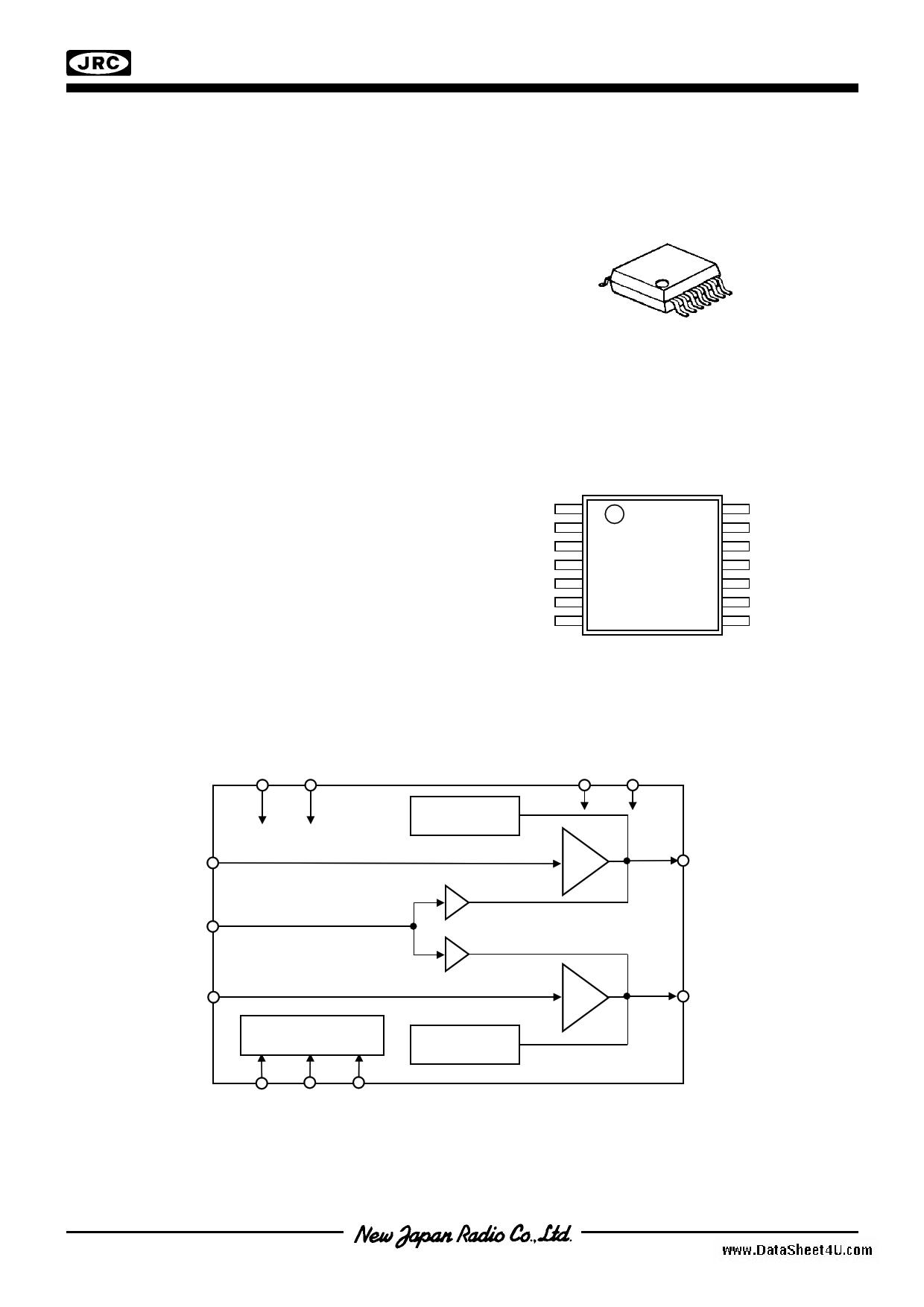 NJU8713 دیتاشیت PDF