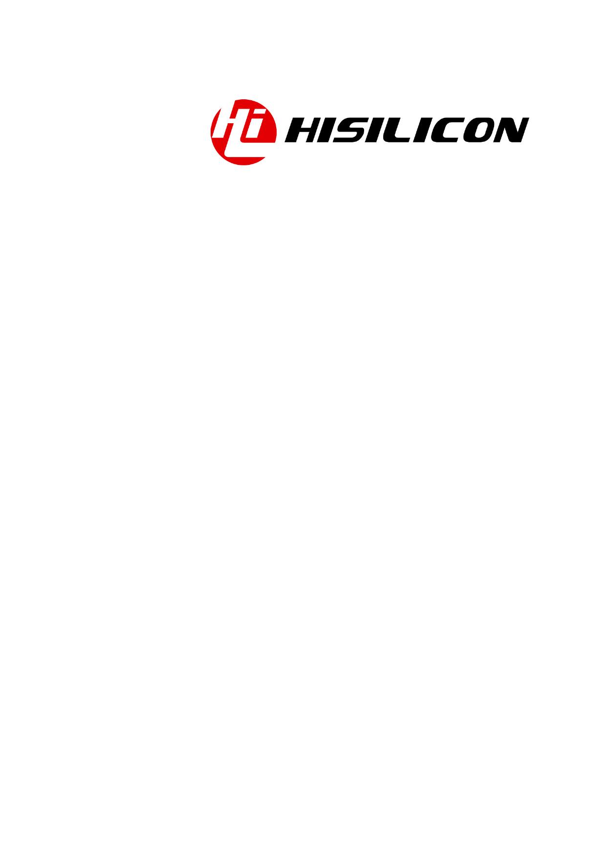 Hi3518 datasheet, circuit