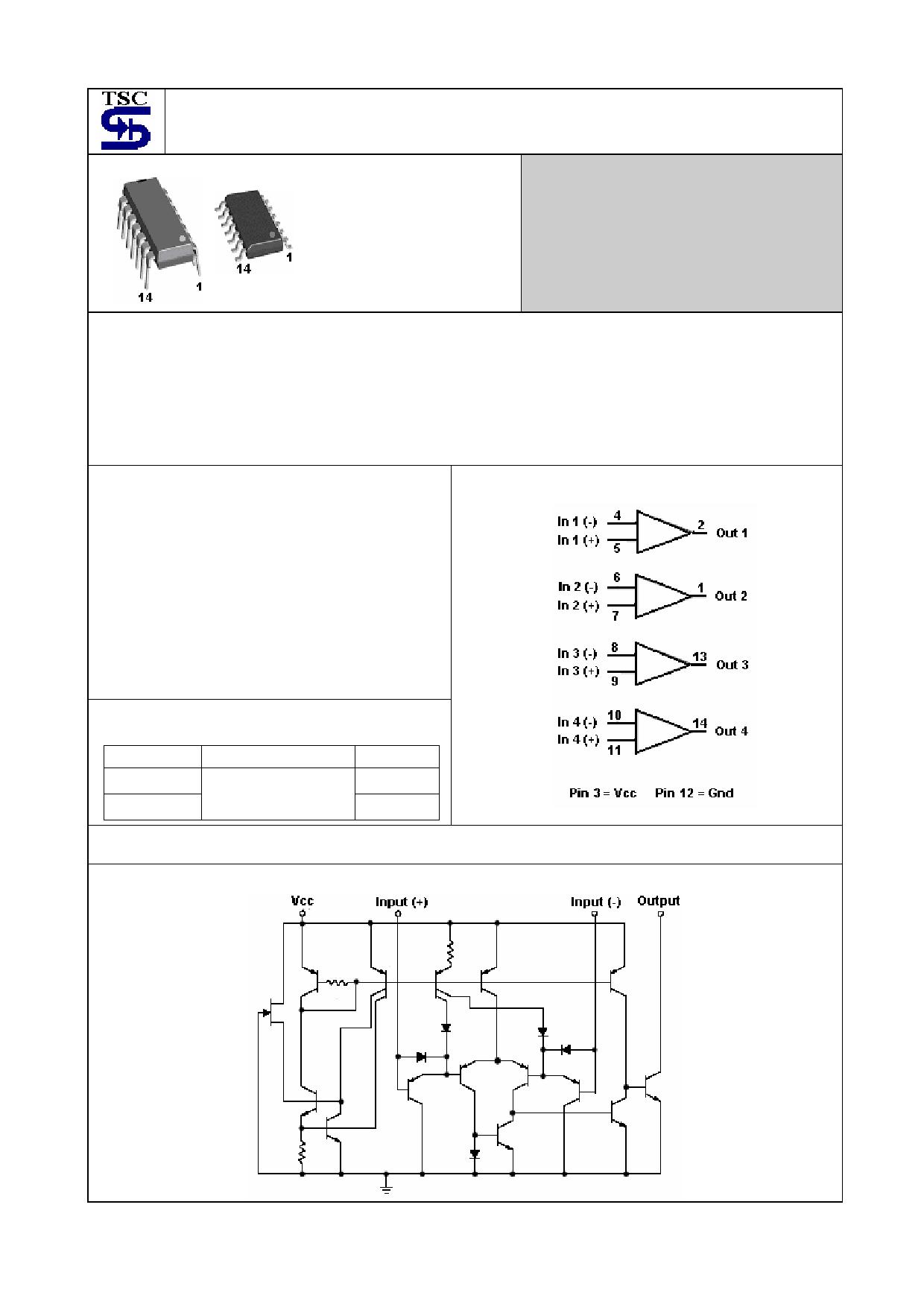 TS2901 Datasheet, TS2901 PDF,ピン配置, 機能