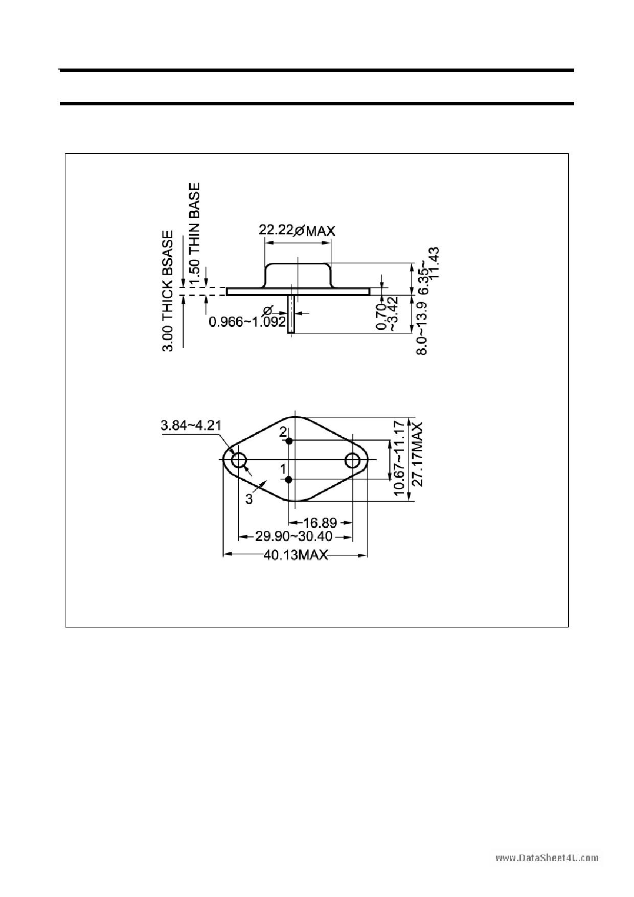 2SC245 pdf, ピン配列