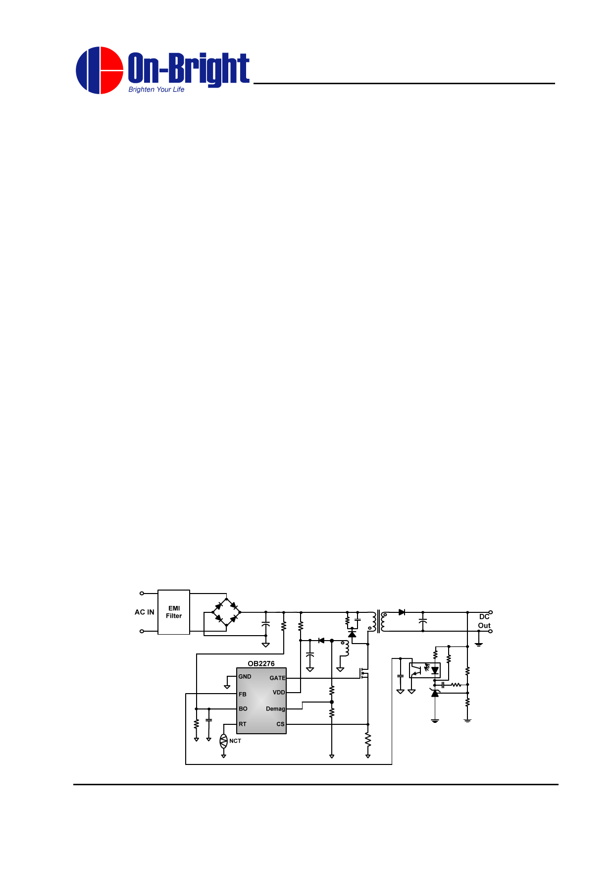 OB2276 دیتاشیت PDF