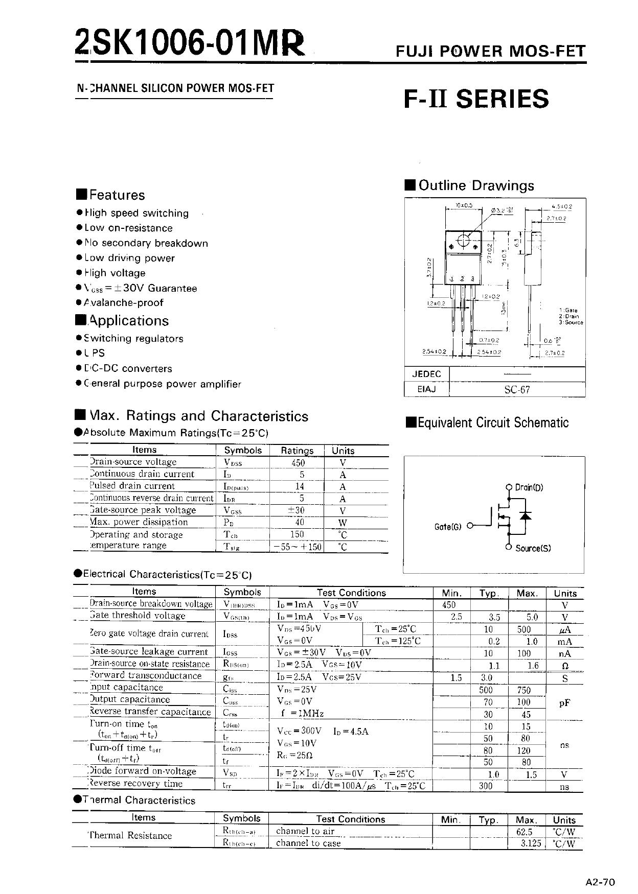 K1006-01MR datasheet