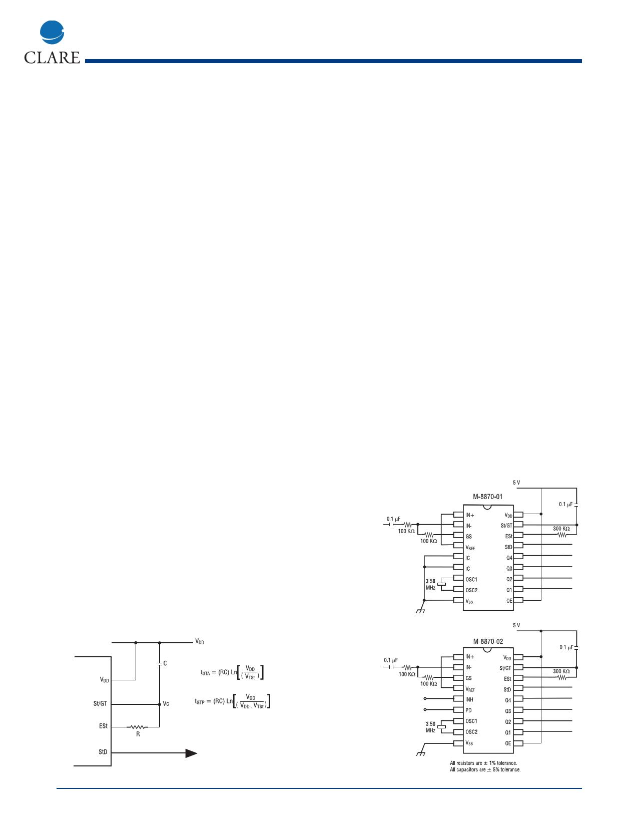 M-8870-02T Даташит, Описание, Даташиты