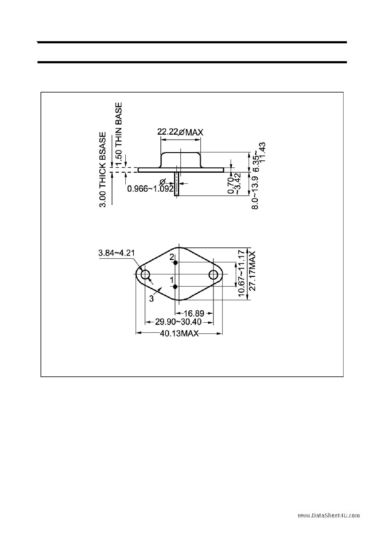 B722 pdf, ピン配列