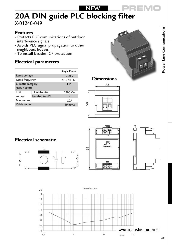 X-01240-049 даташит PDF