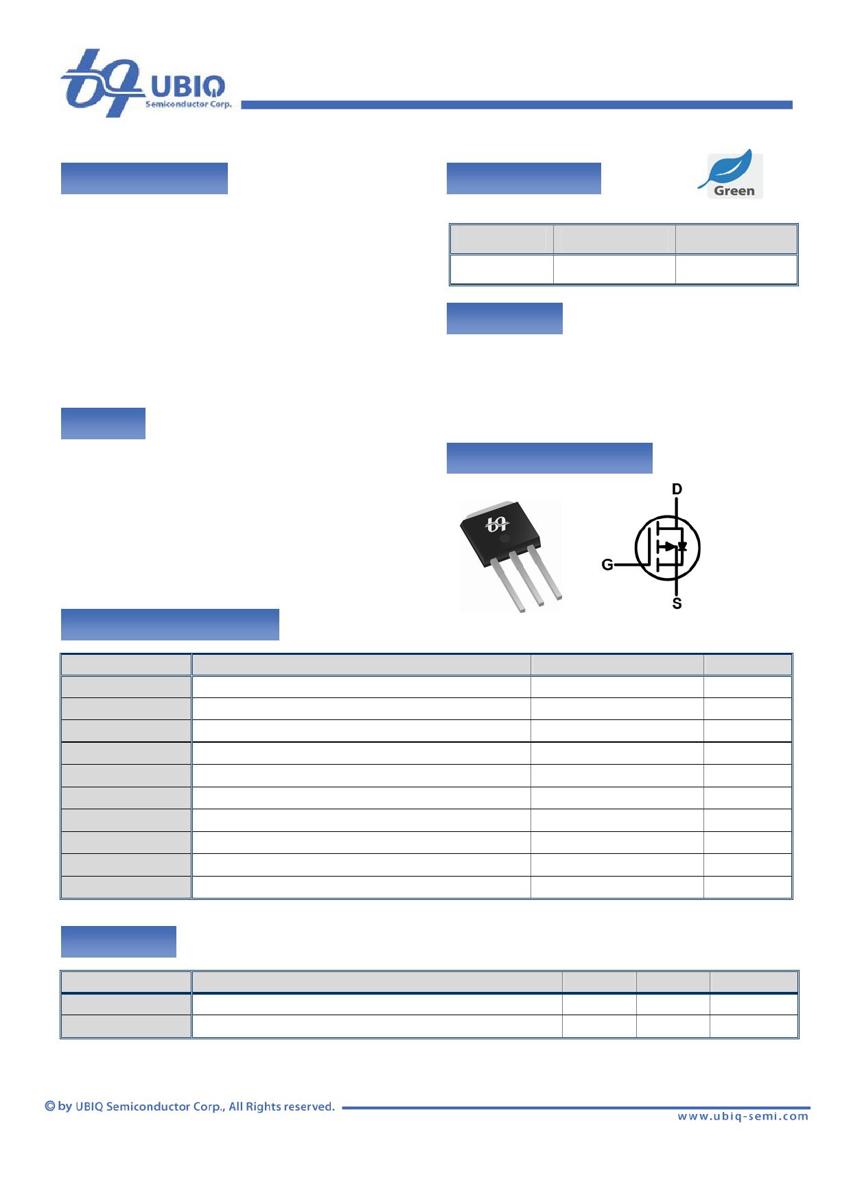 QM3001U Datenblatt PDF