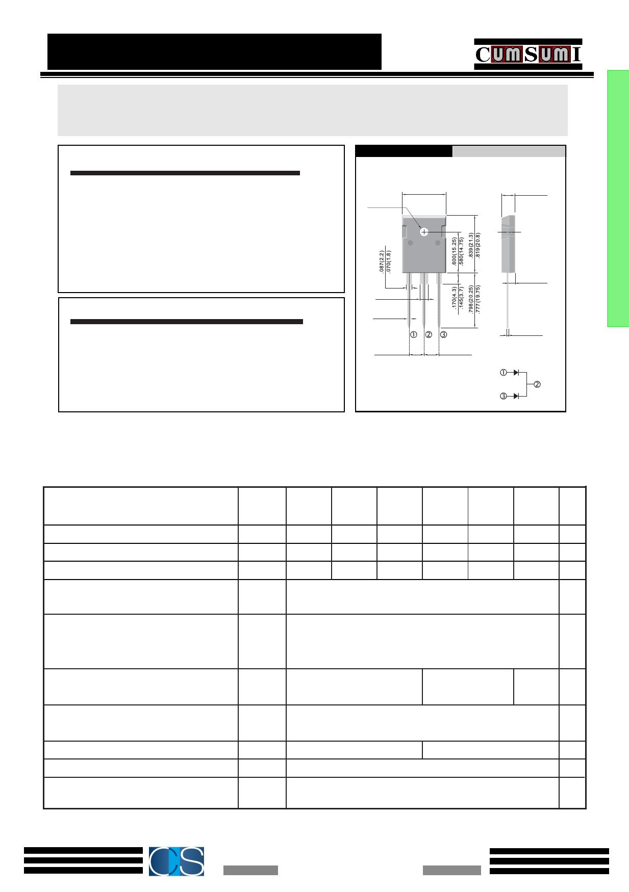 UF3010PT datasheet