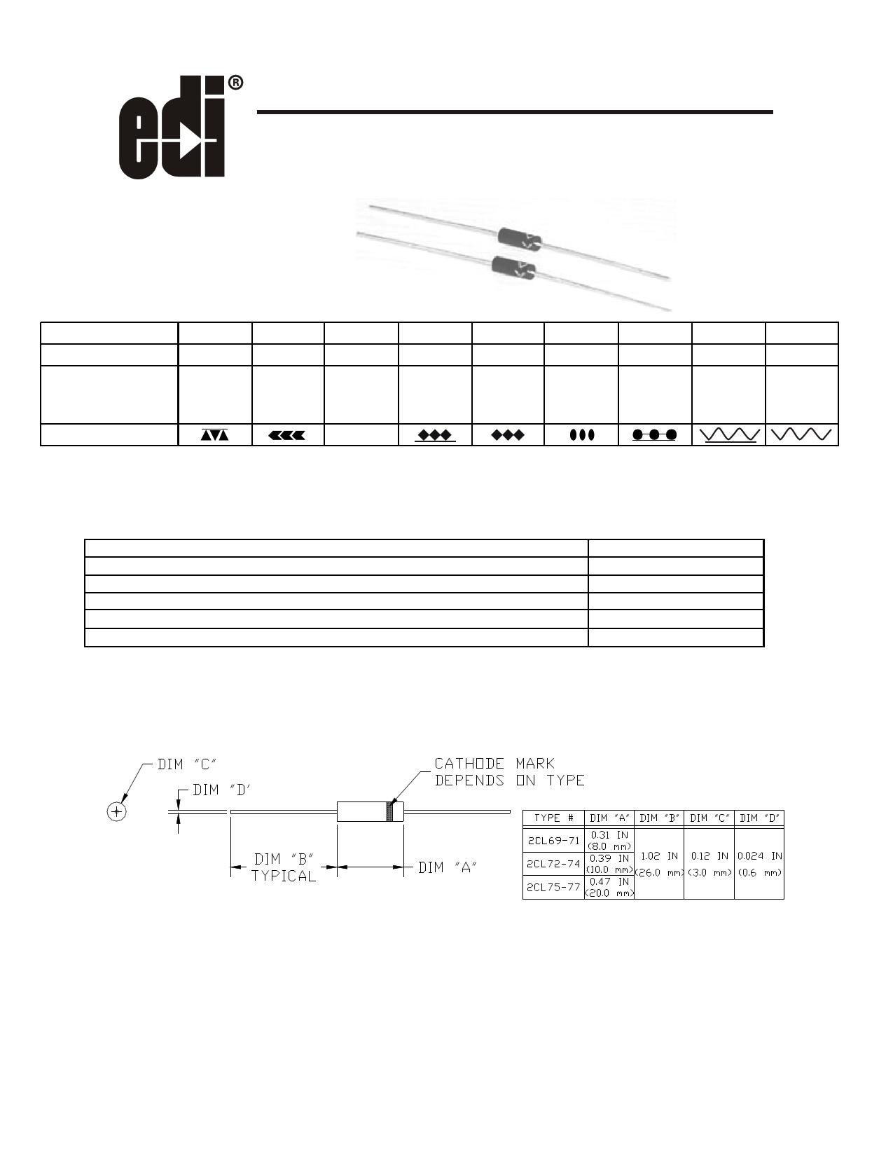 2CL71 datasheet