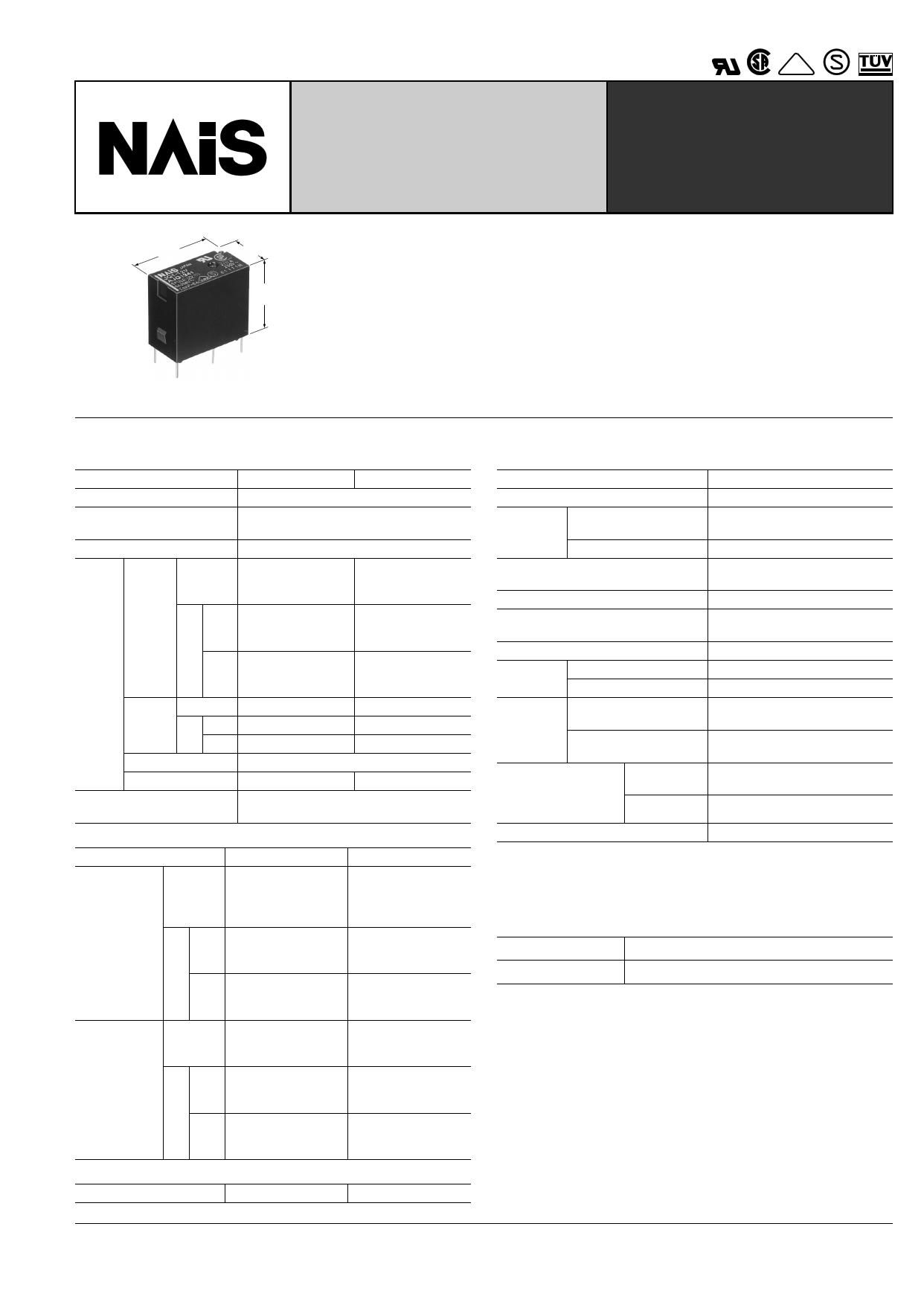 JQ1P-9V دیتاشیت PDF