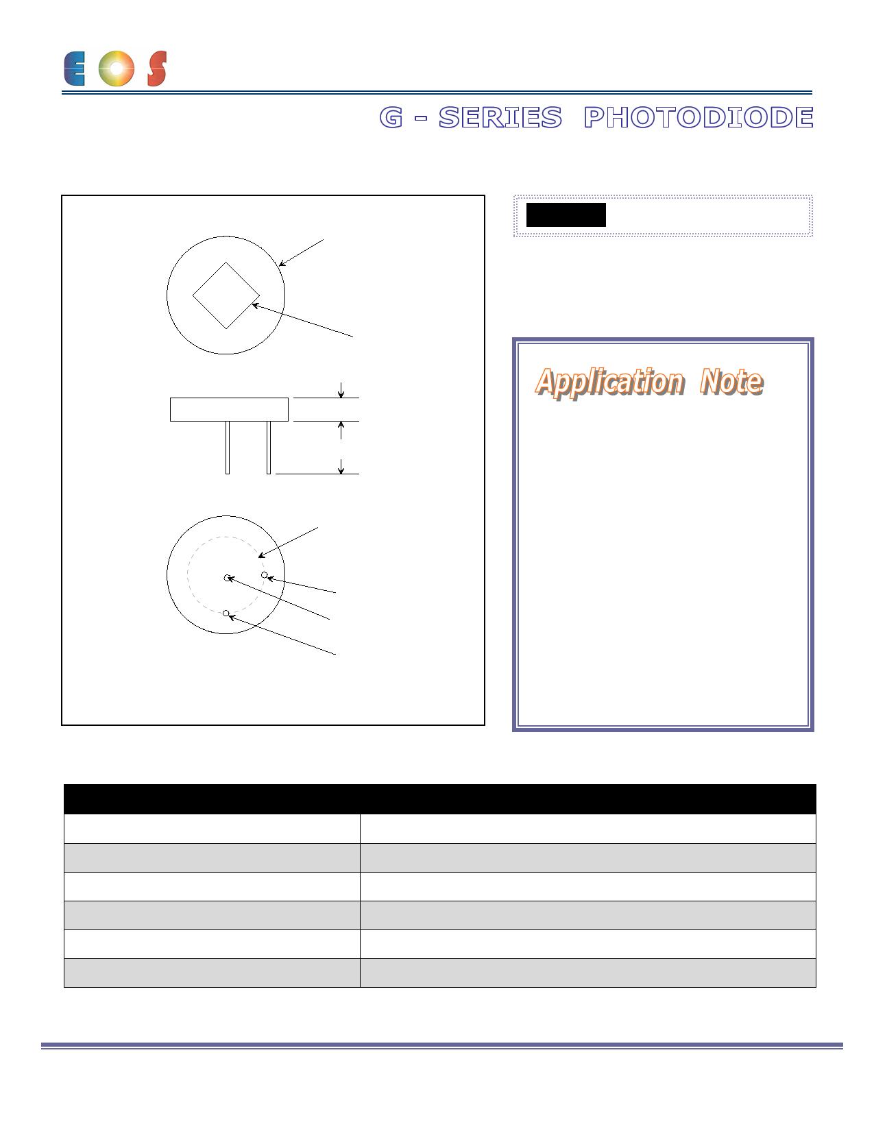 G-100 Hoja de datos, Descripción, Manual