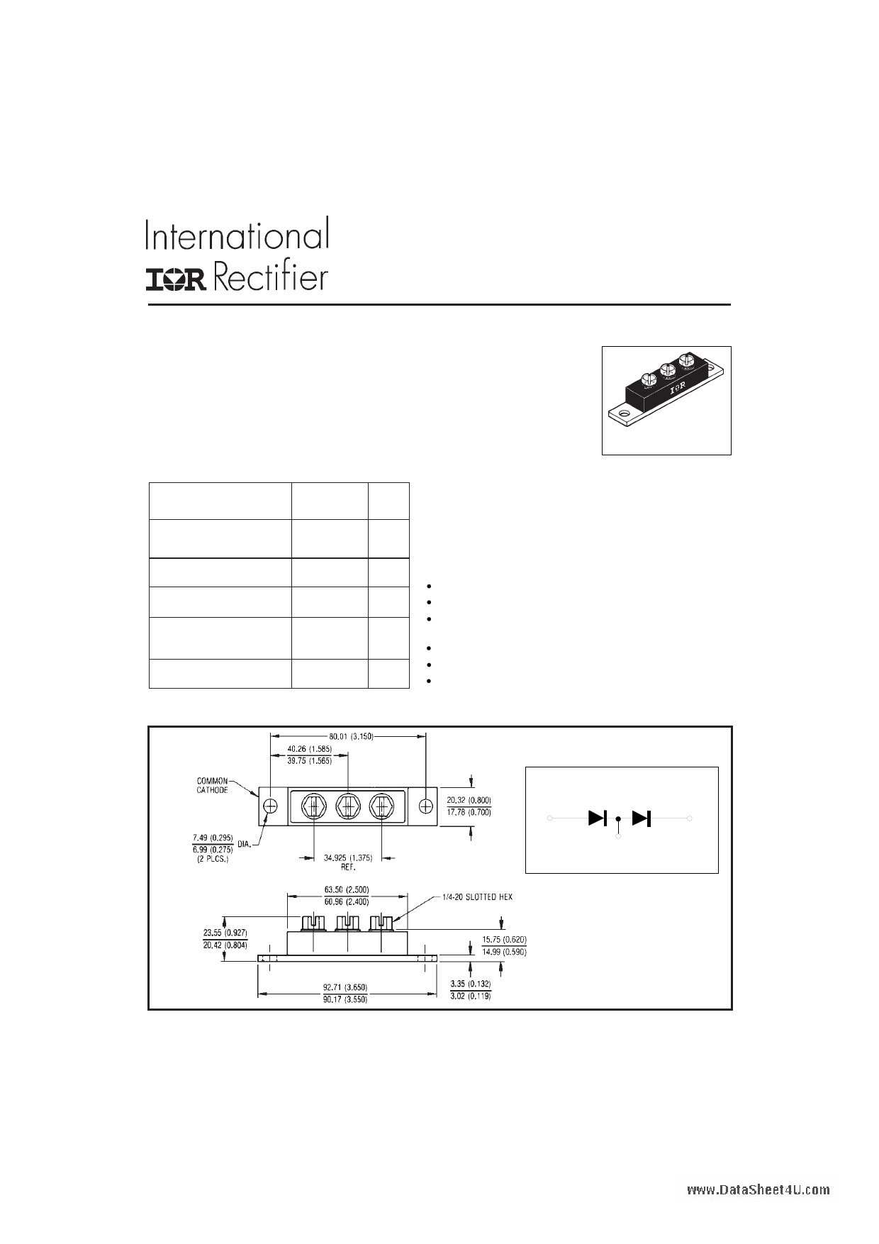 203DMQ100 دیتاشیت PDF