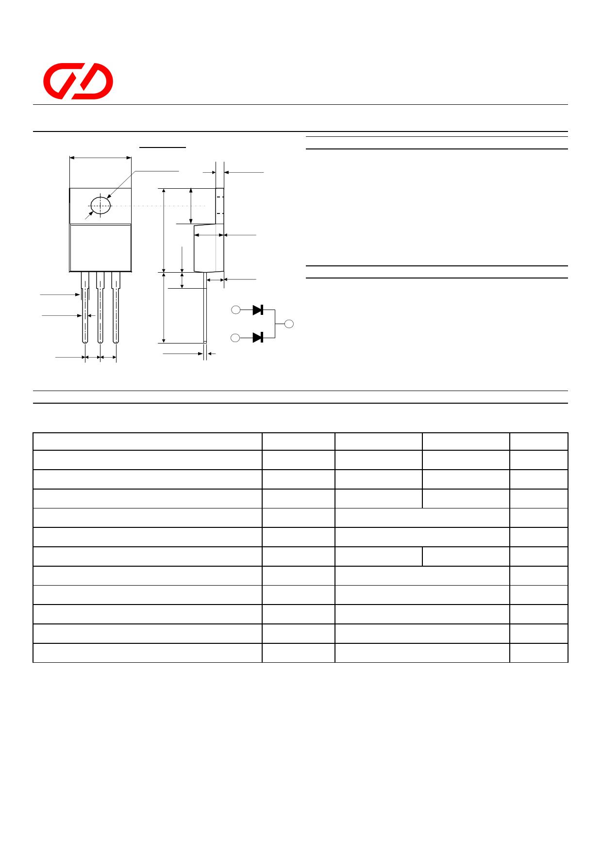 MUR3040CT datasheet