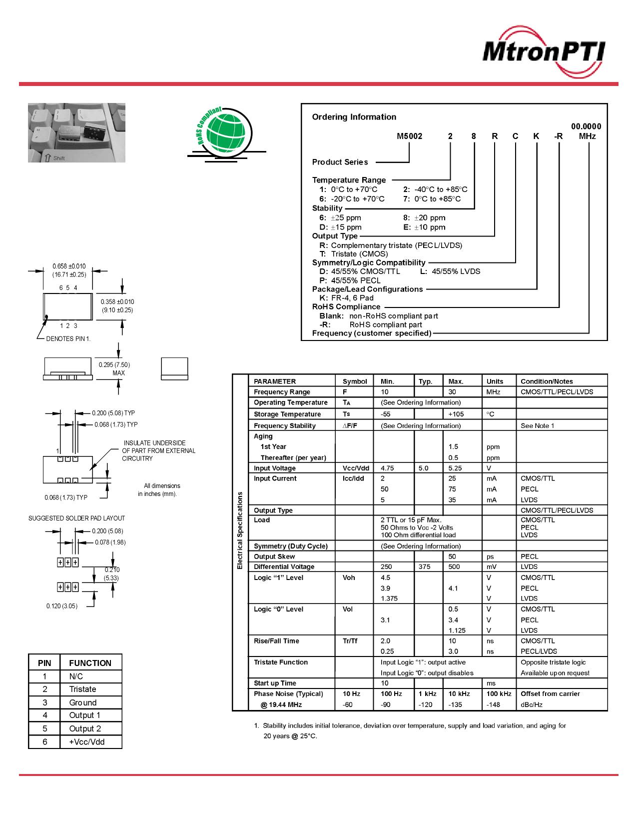 M5002 datasheet