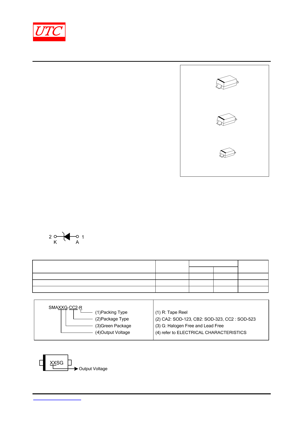SMA7V datasheet, circuit