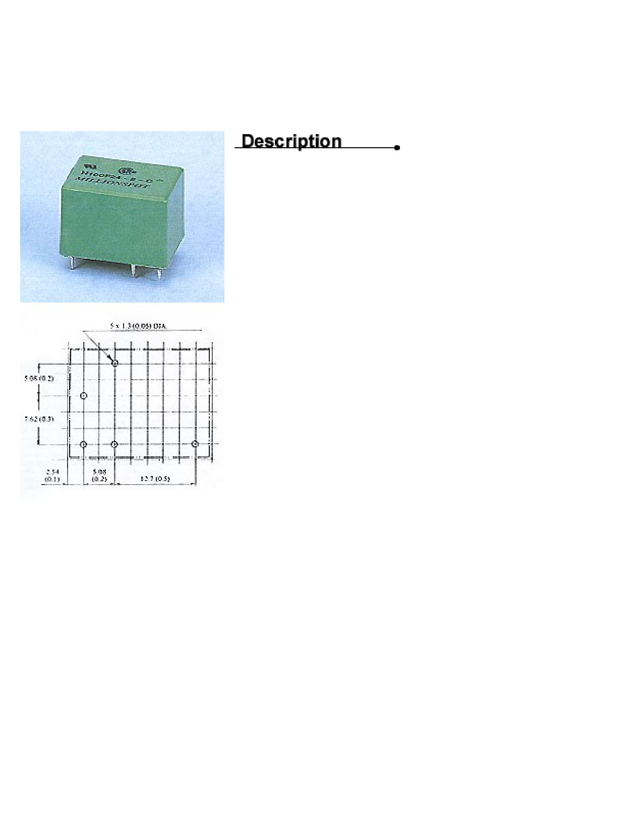 H100F24-2-C Hoja de datos, Descripción, Manual