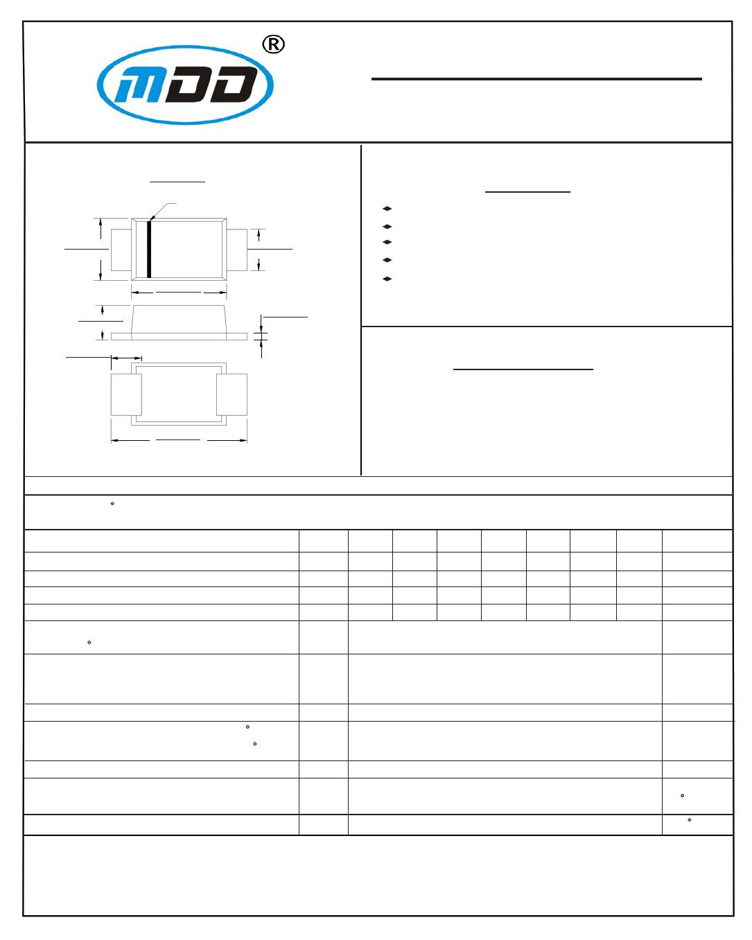 GS2DBF datasheet