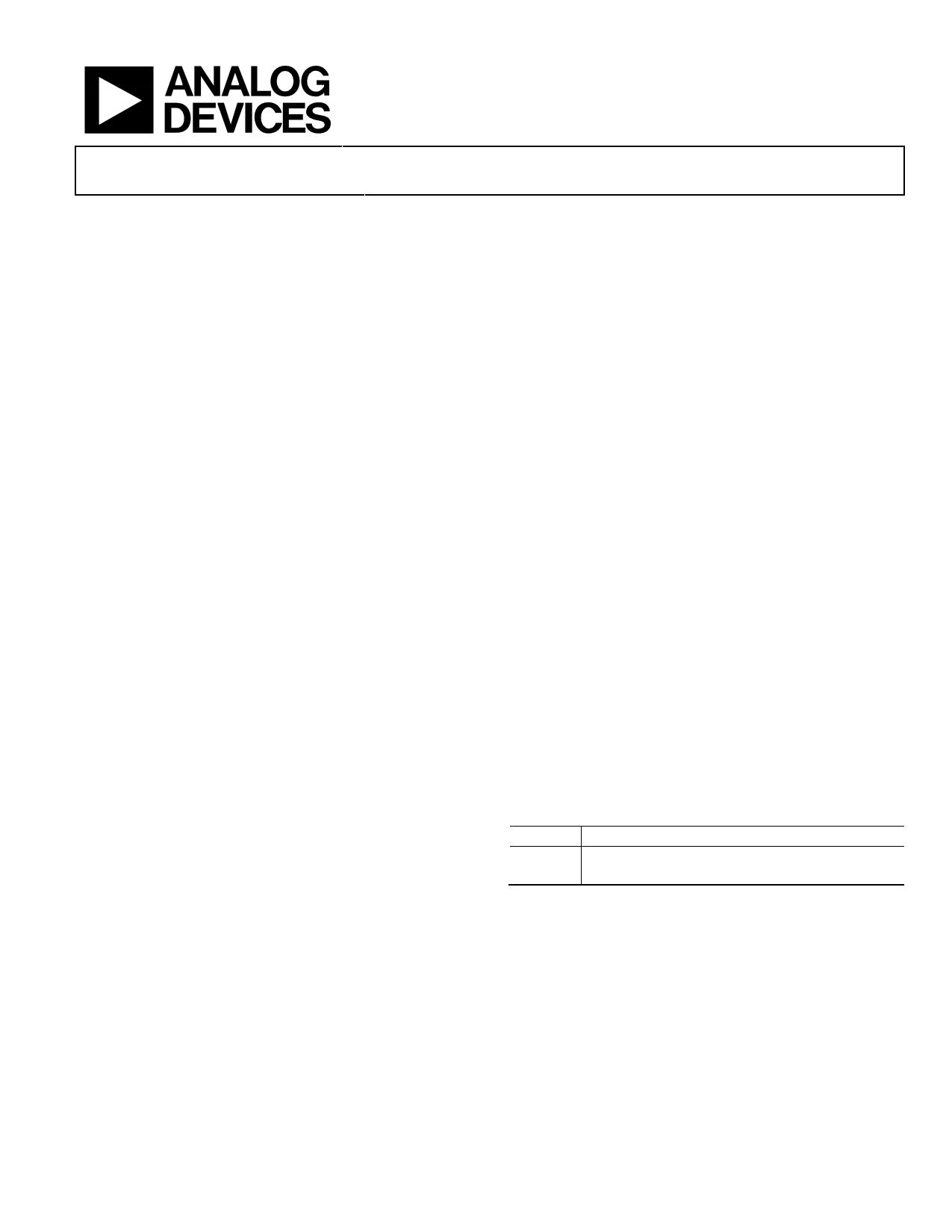 AD5412 datasheet