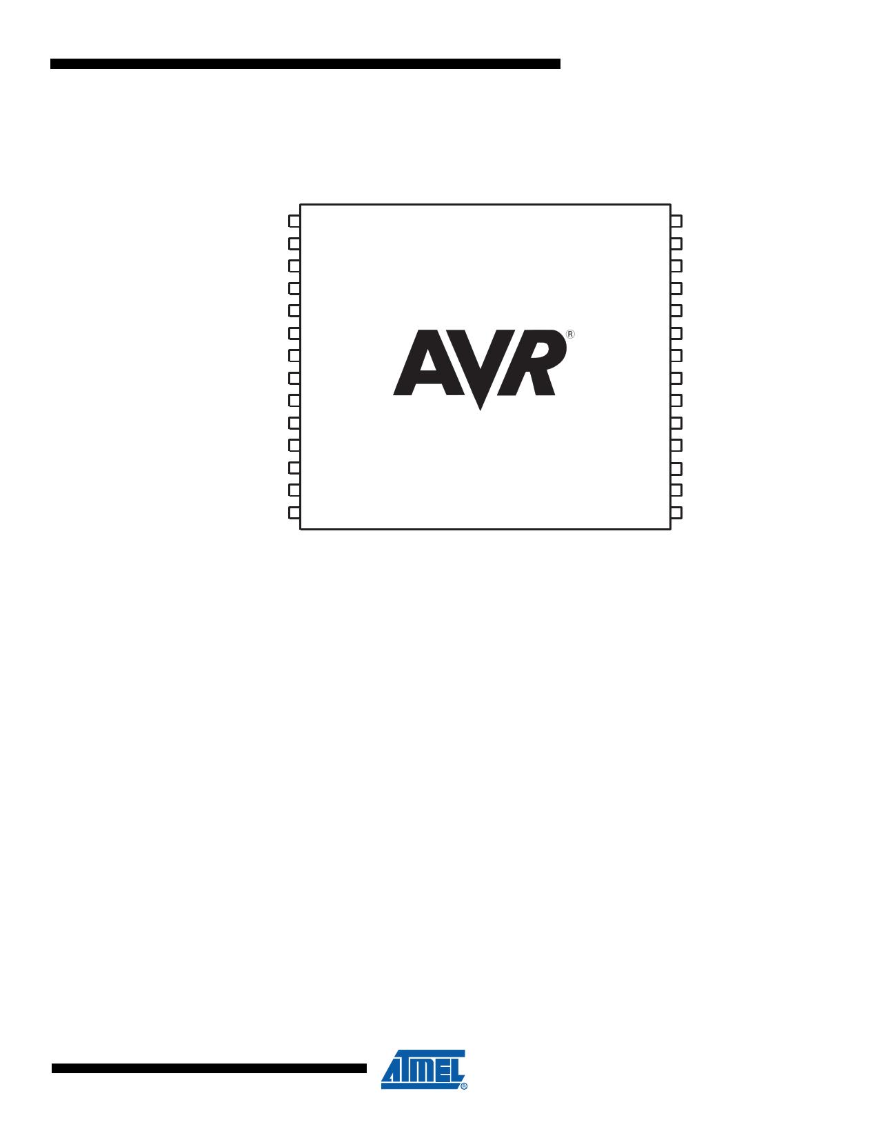 ATmega16HVA pdf, ピン配列