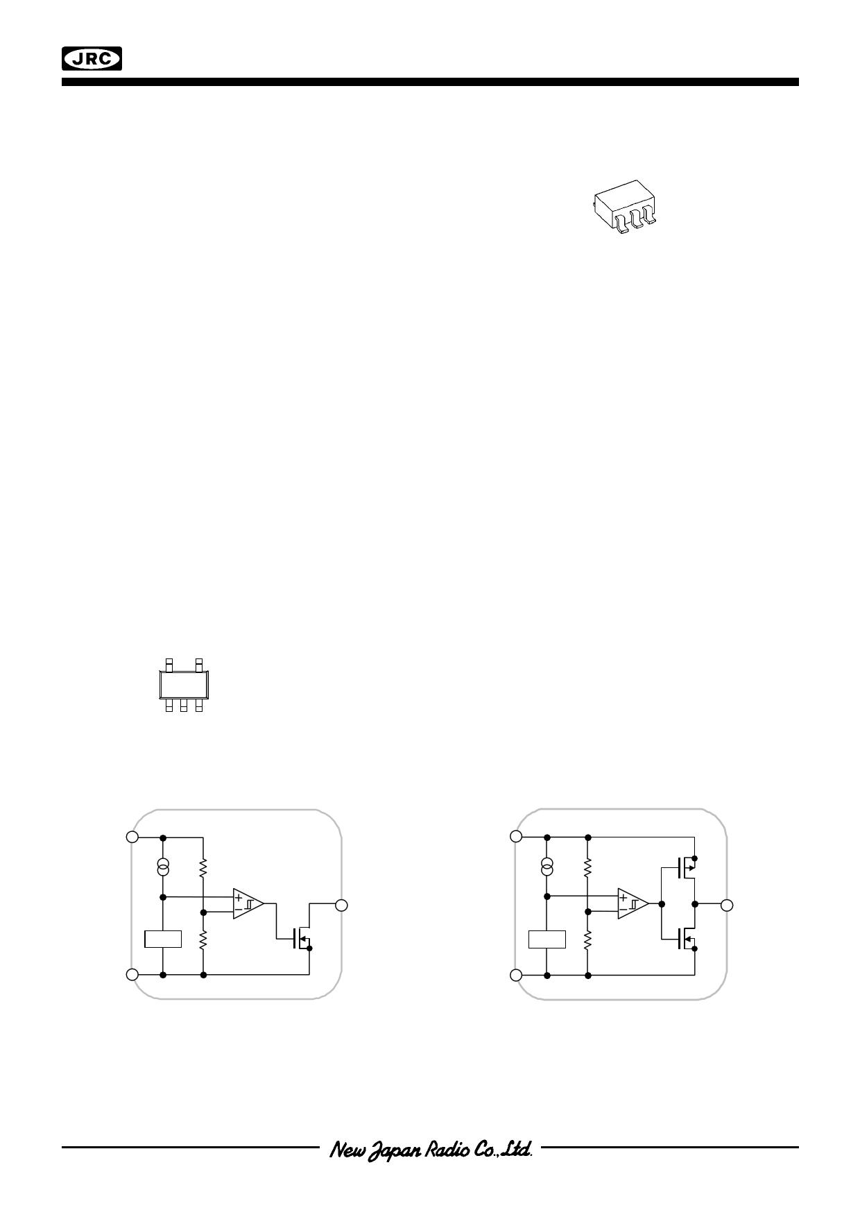 NJU7703 دیتاشیت PDF