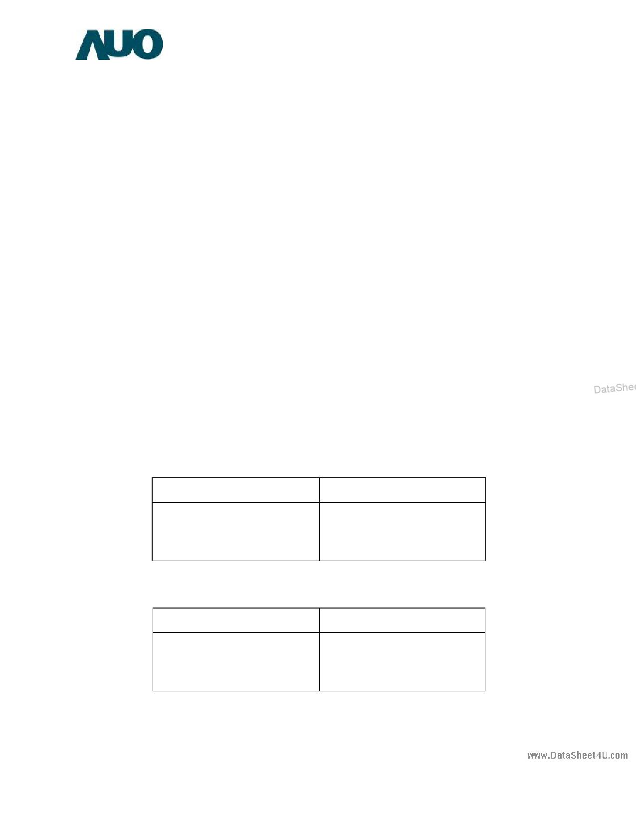G104SN05 دیتاشیت PDF