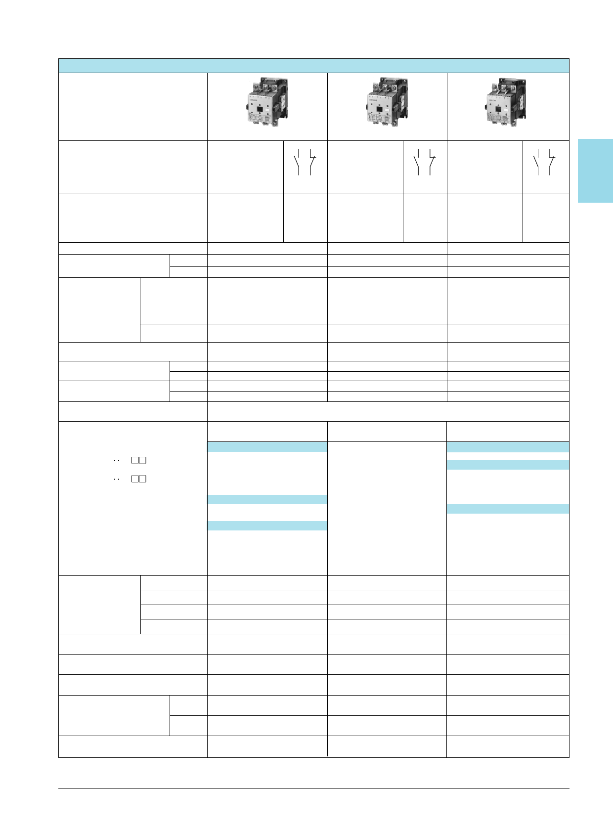 3TF43 Datasheet, Funktion
