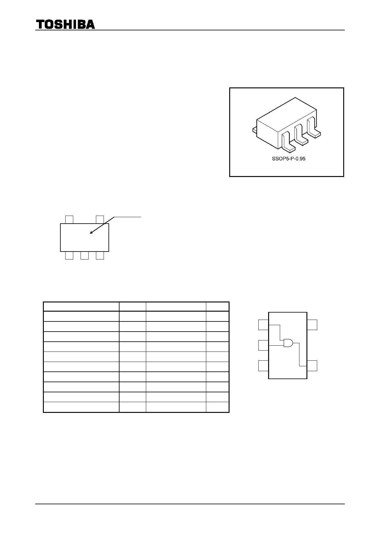 TC7SH09F 데이터시트 및 TC7SH09F PDF