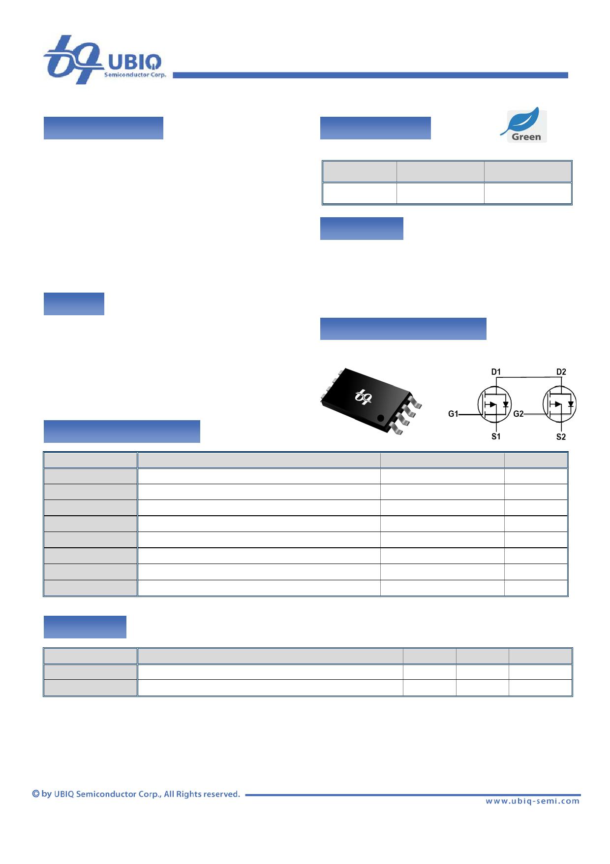 QM2507W Datenblatt PDF
